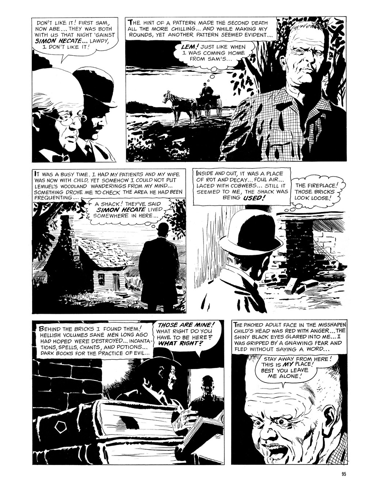 Read online Eerie Archives comic -  Issue # TPB 1 - 96