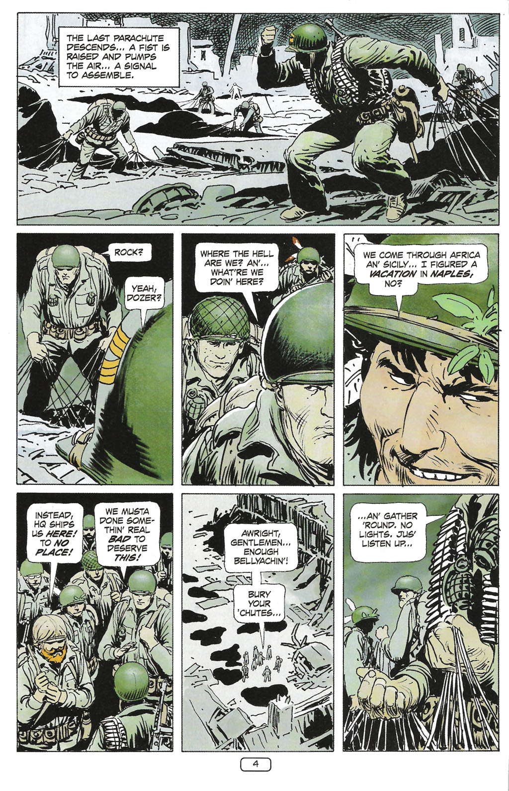 Read online Sgt. Rock: The Prophecy comic -  Issue #1 - 6