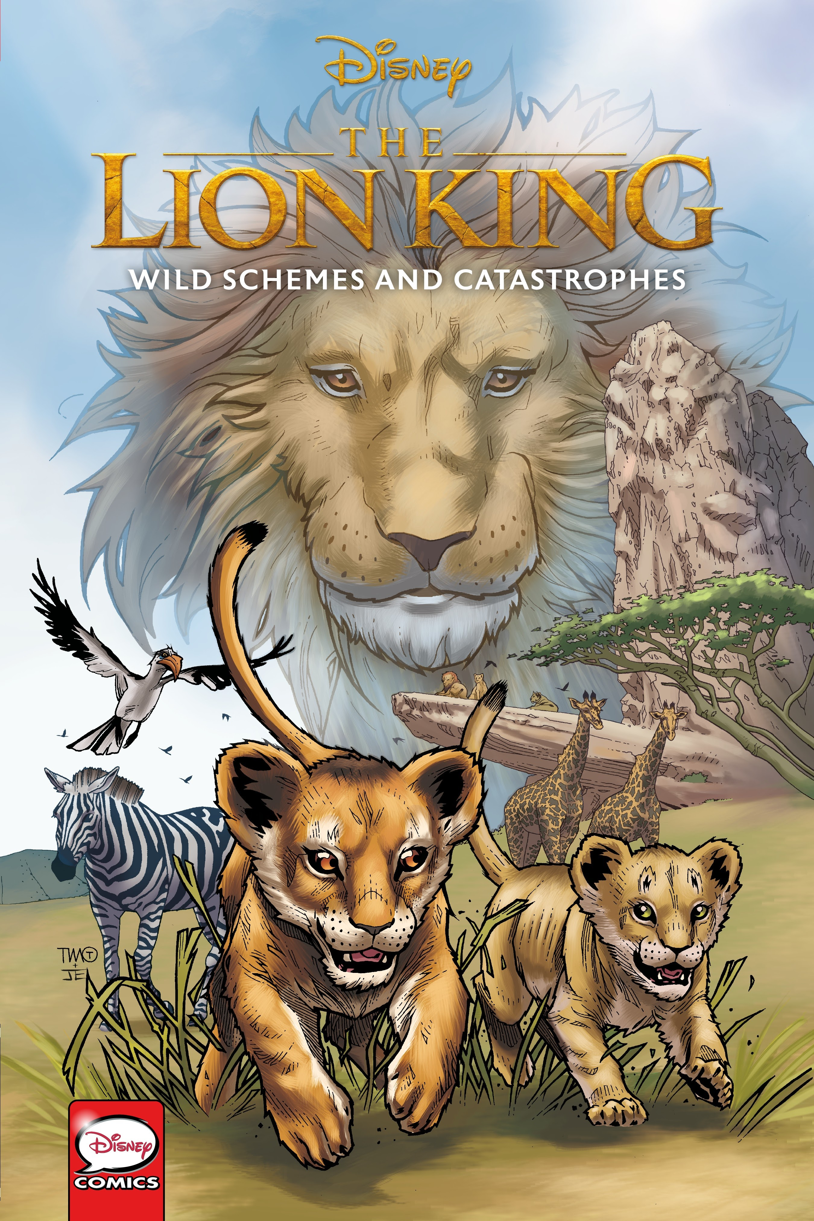 Disney The Lion King: Wild Schemes and Catastrophes TPB Page 1