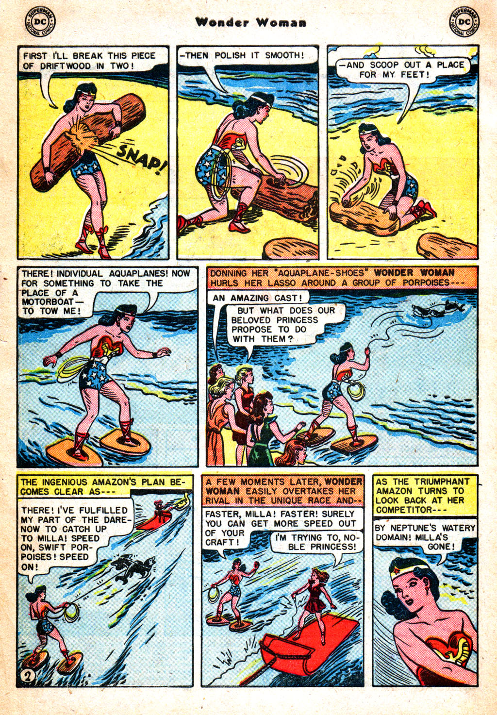 Read online Wonder Woman (1942) comic -  Issue #57 - 3