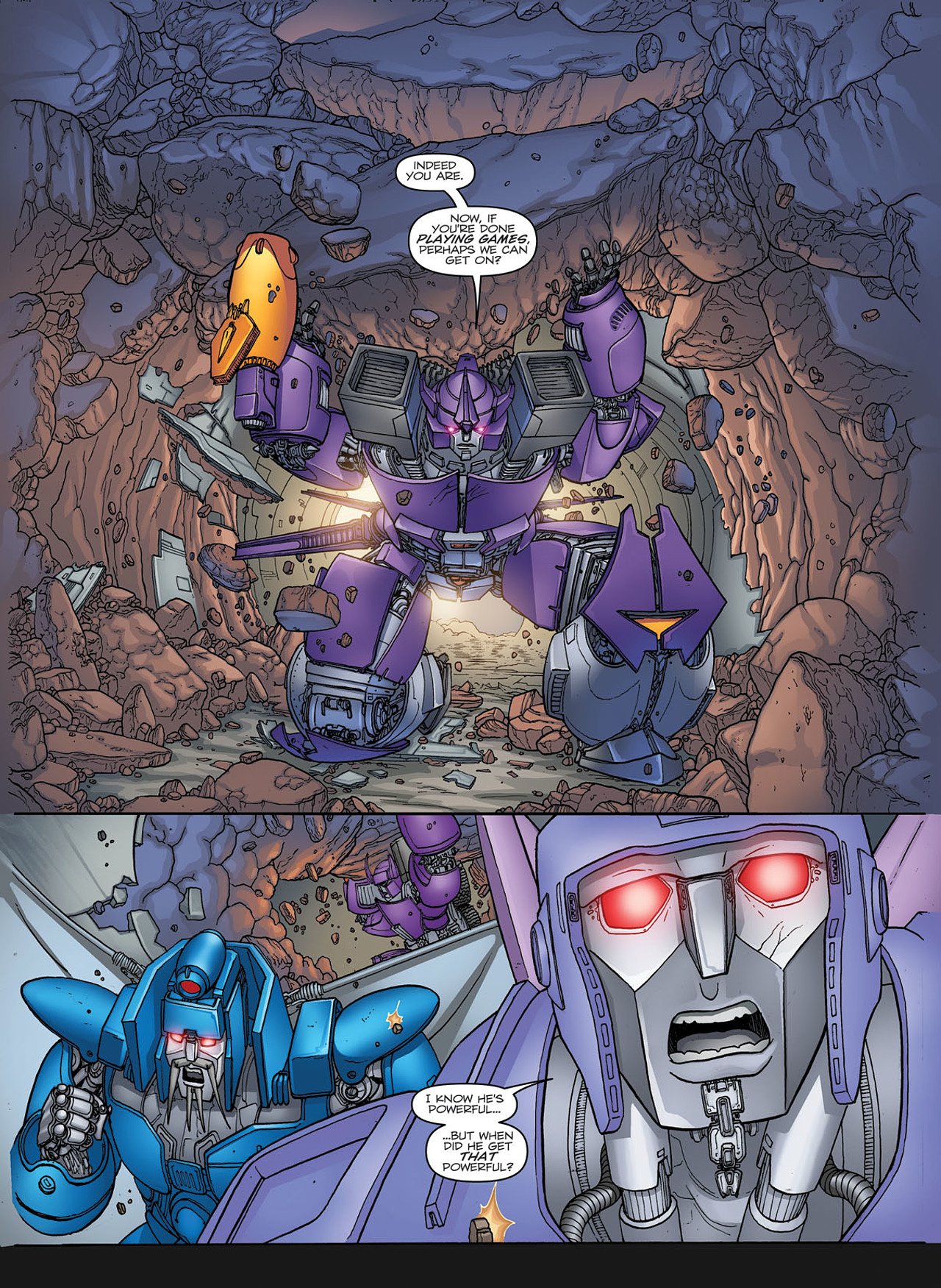 Read online Transformers: Heart of Darkness comic -  Issue #1 - 18