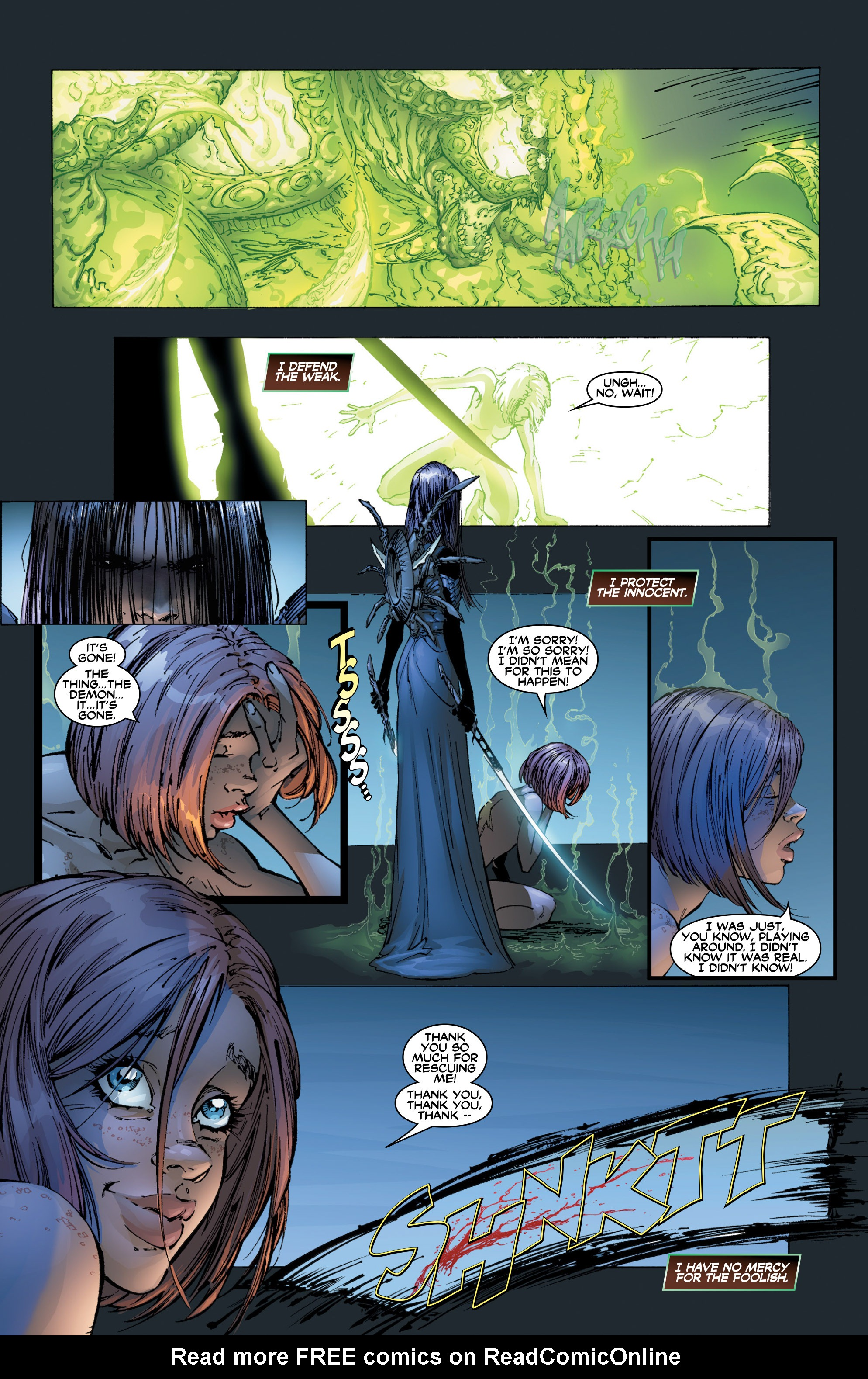 Read online Wraithborn Redux comic -  Issue #1 - 9