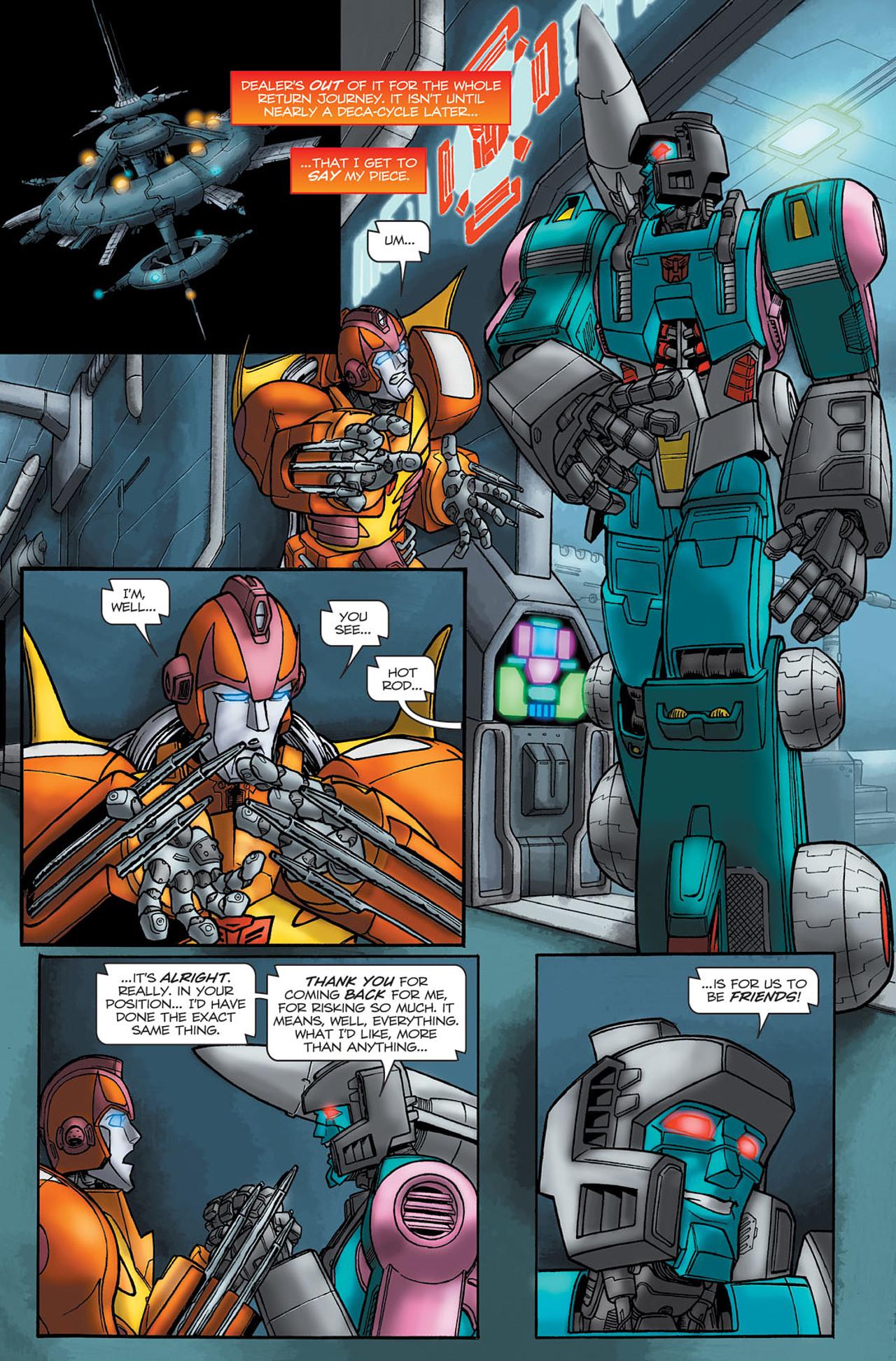 Read online Transformers Spotlight: Hot Rod comic -  Issue # Full - 23