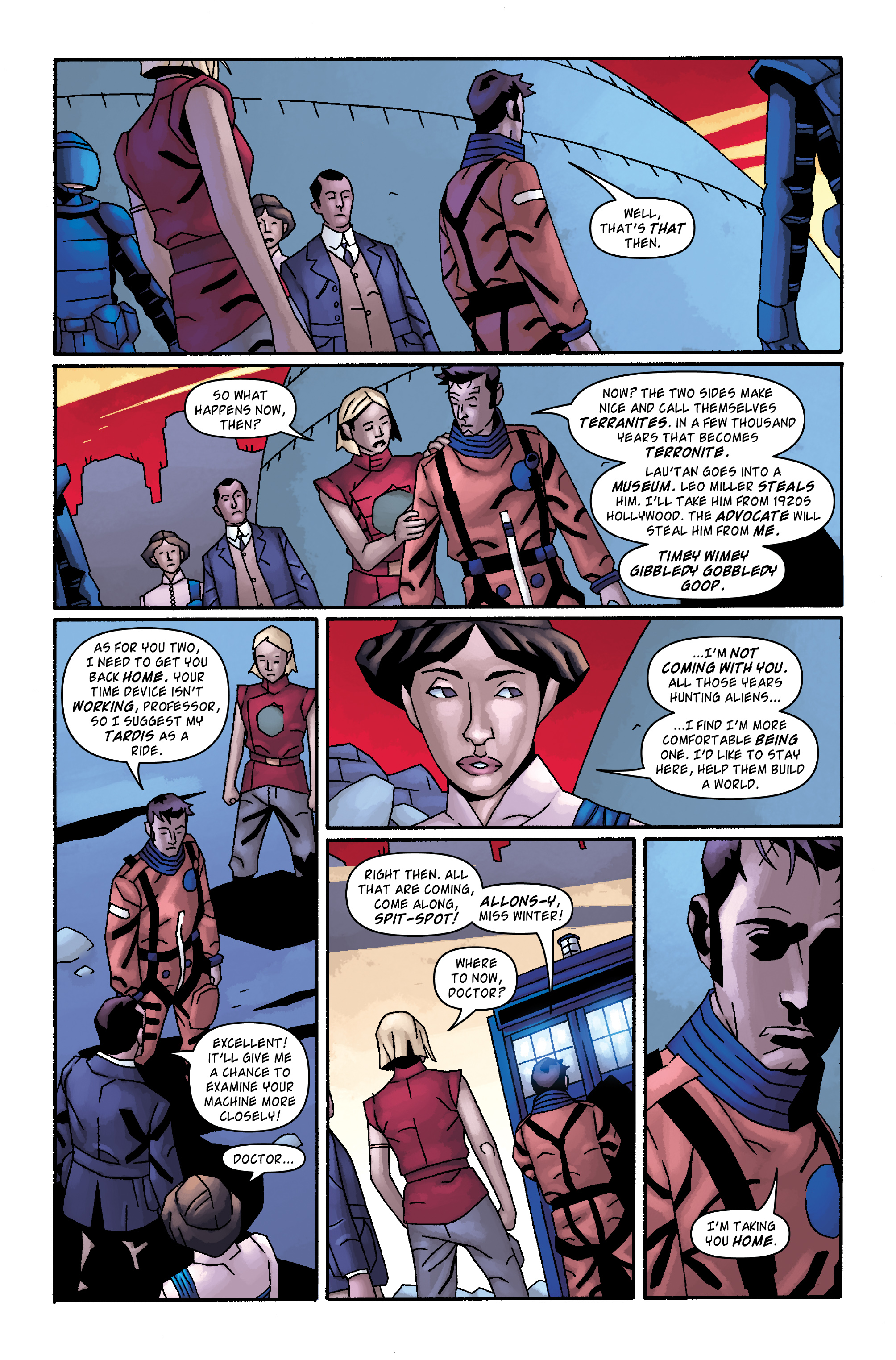 Read online Doctor Who: The Tenth Doctor Archives comic -  Issue #34 - 17
