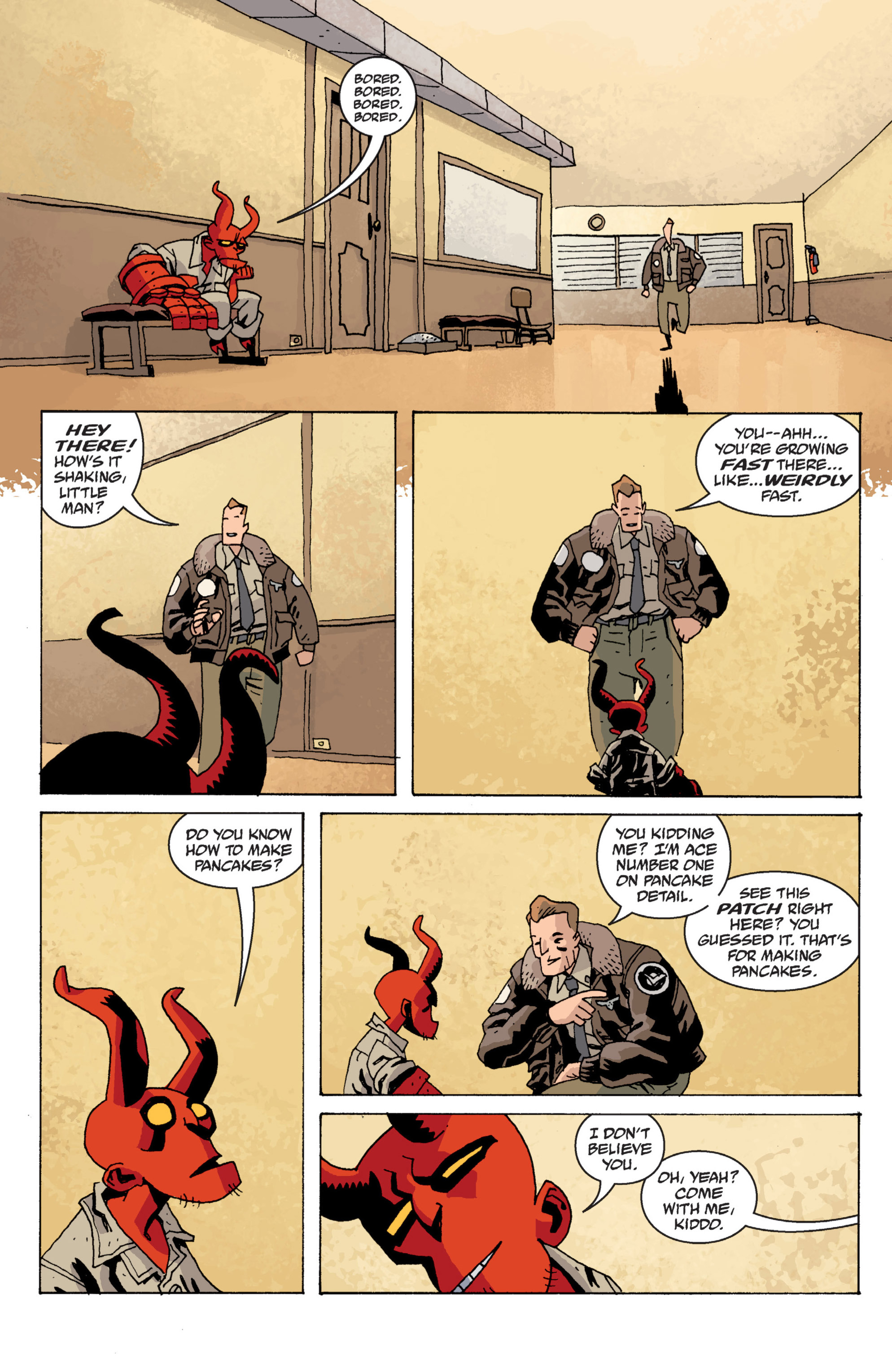 Read online B.P.R.D. (2003) comic -  Issue # TPB 13 - 98