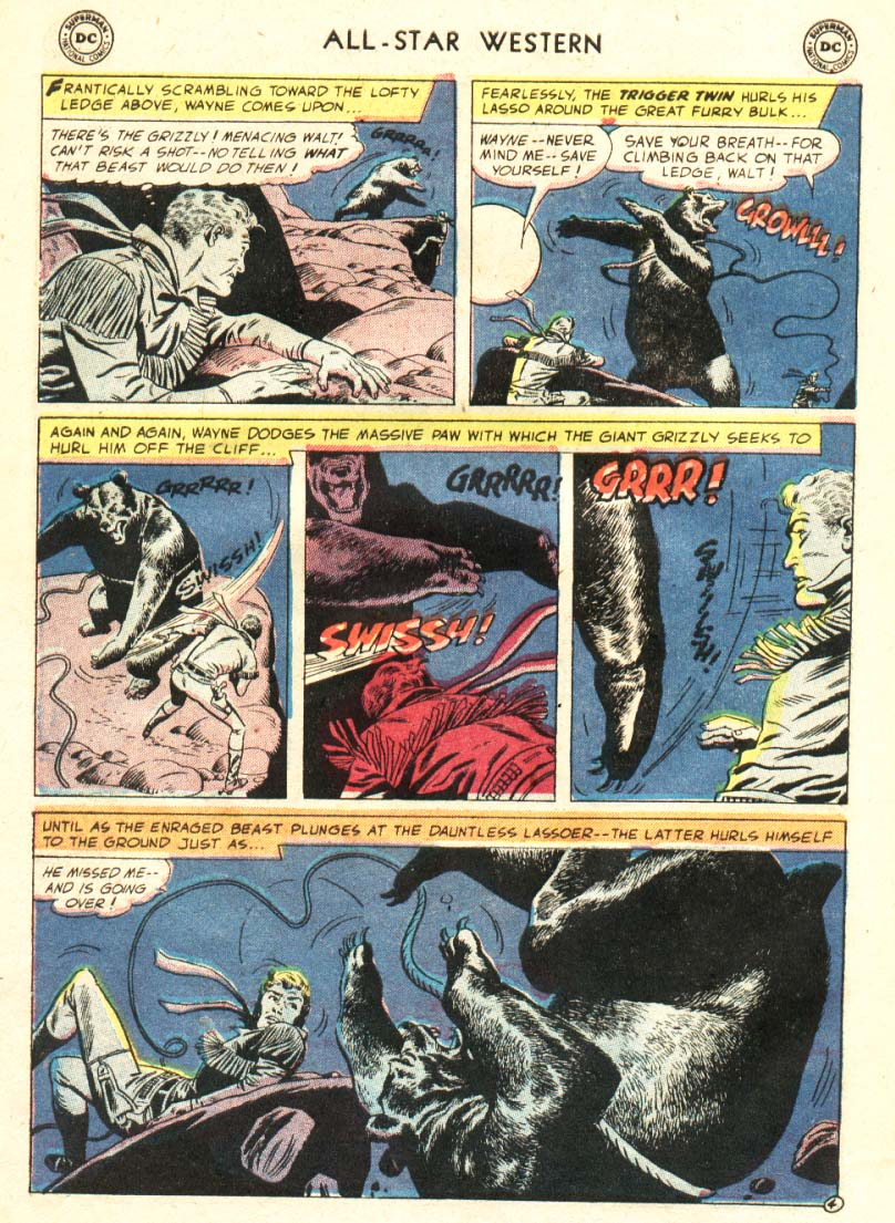 Read online All-Star Western (1951) comic -  Issue #91 - 5