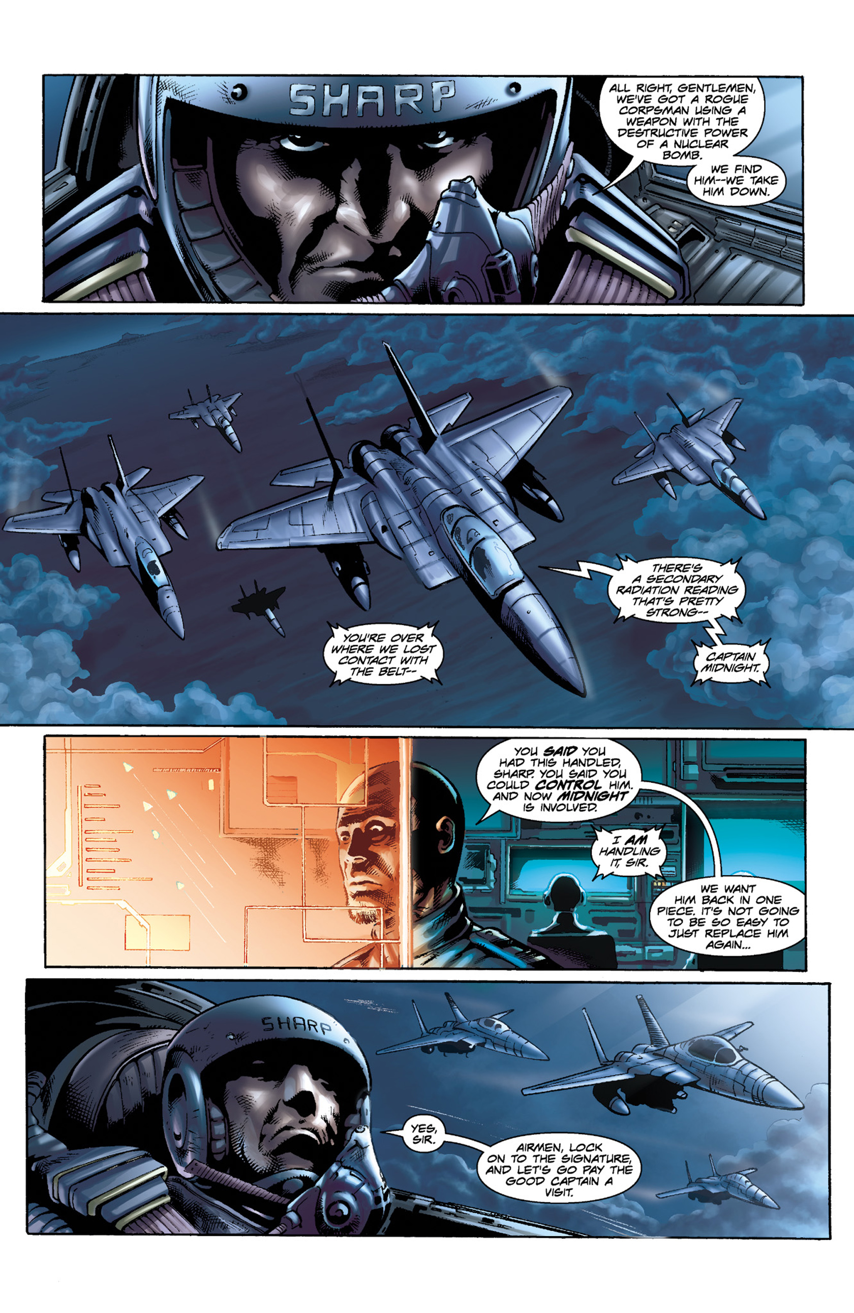 Read online Skyman comic -  Issue #3 - 8