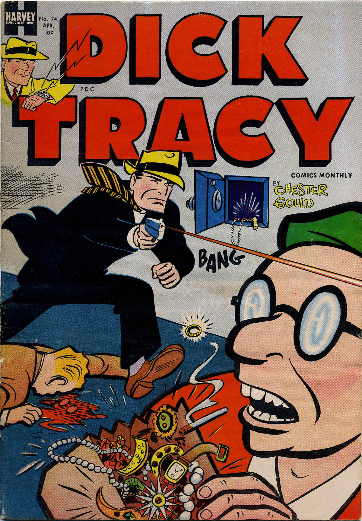 Dick Tracy (1950) 74 Page 1