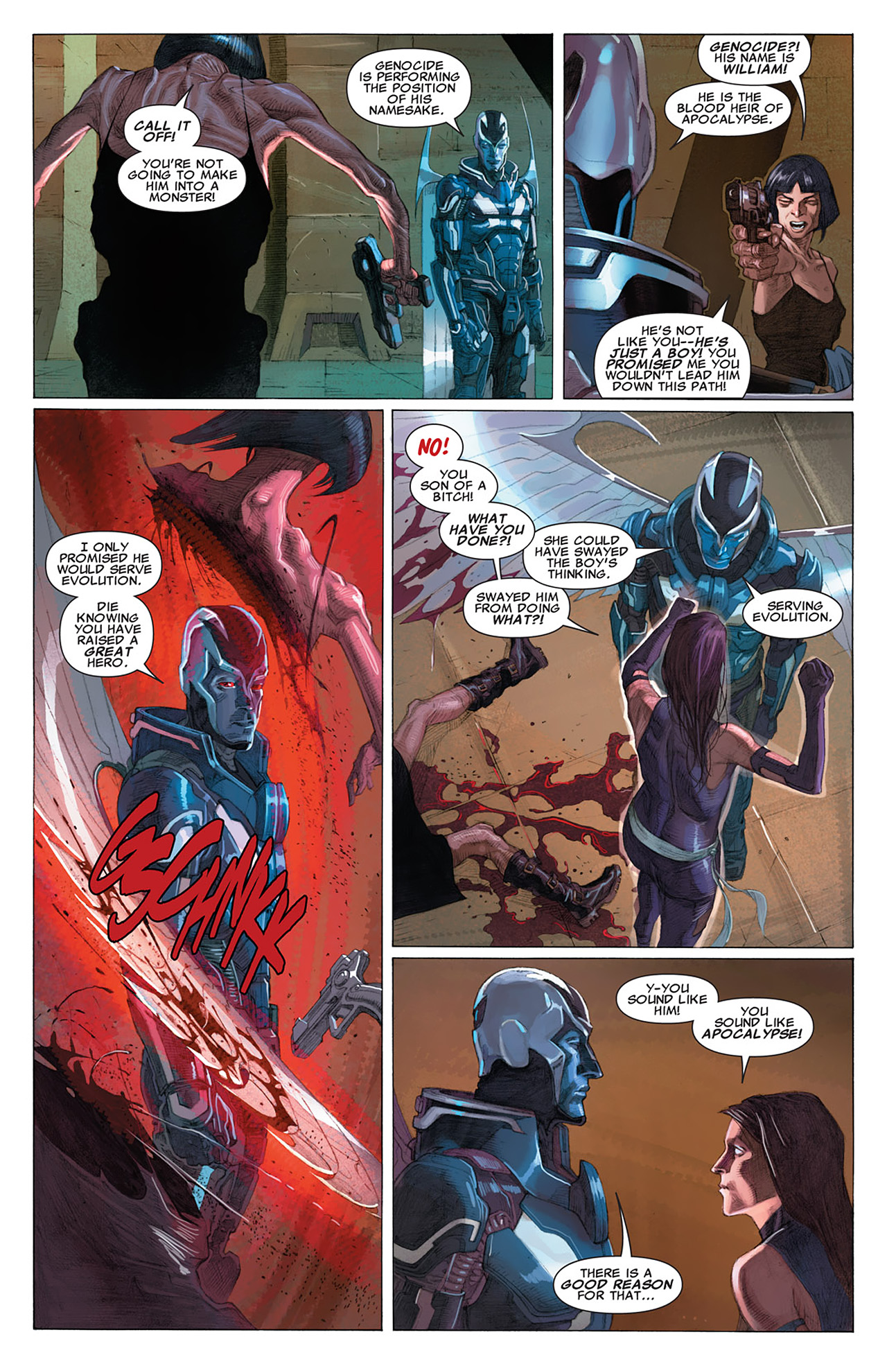 Read online Uncanny X-Force (2010) comic -  Issue #16 - 13