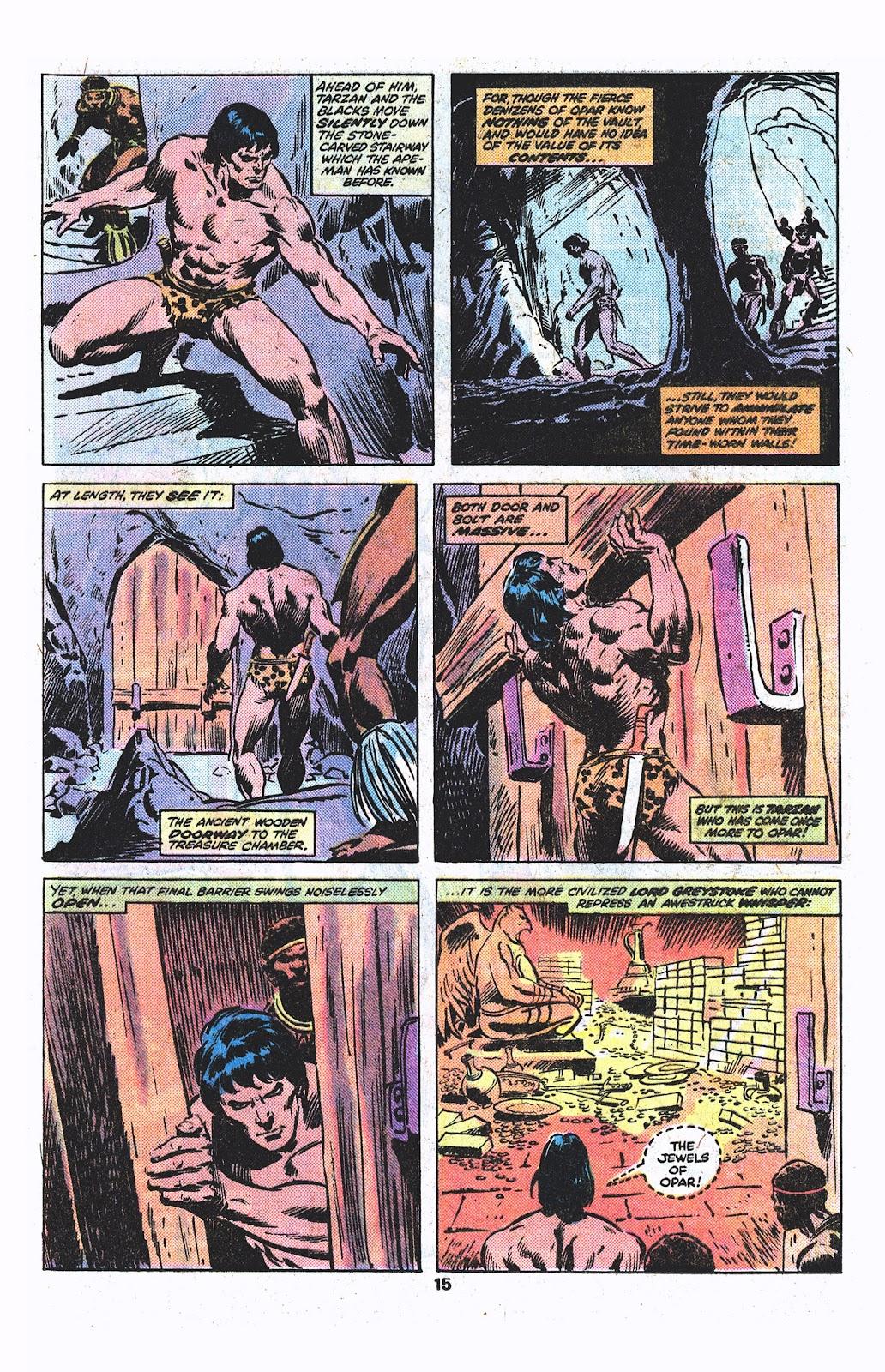 Tarzan (1977) issue 3 - Page 9