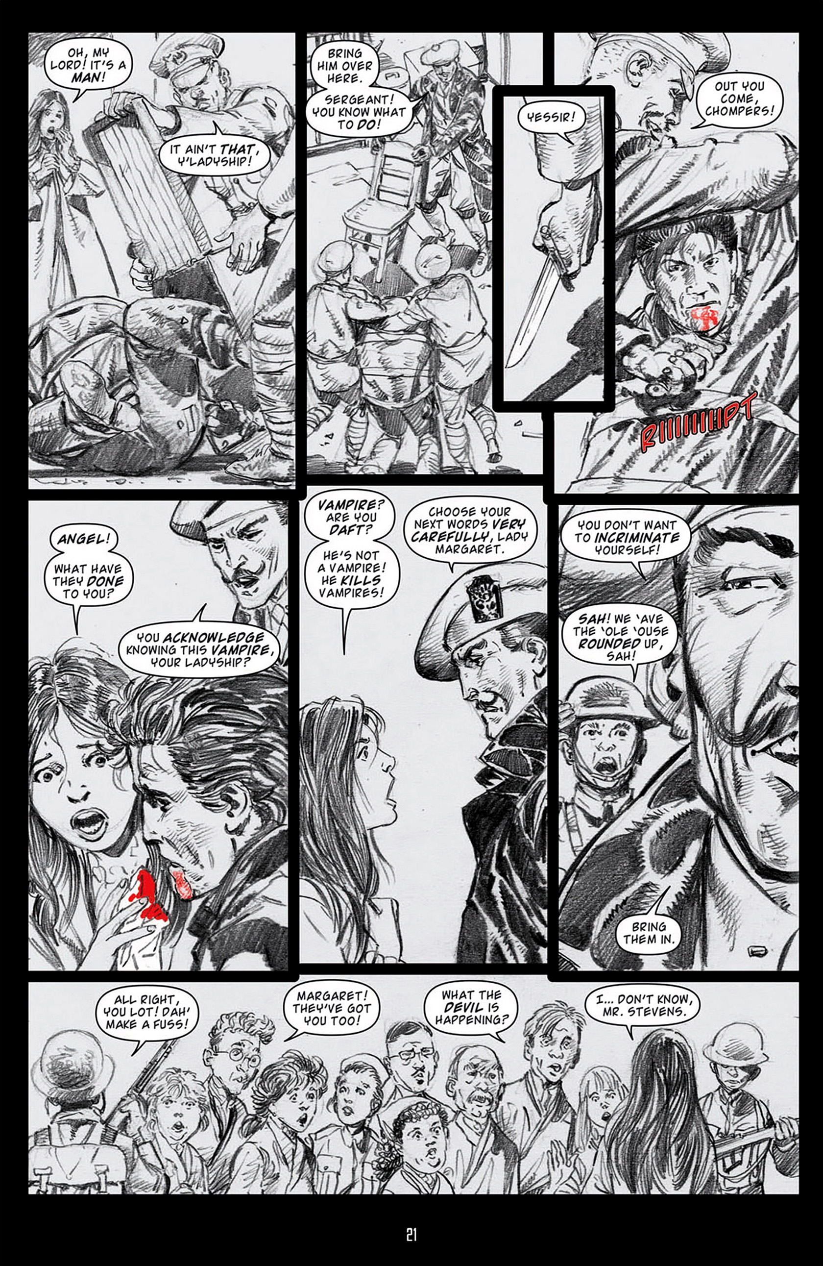 Read online Angel: Blood & Trenches comic -  Issue #1 - 24