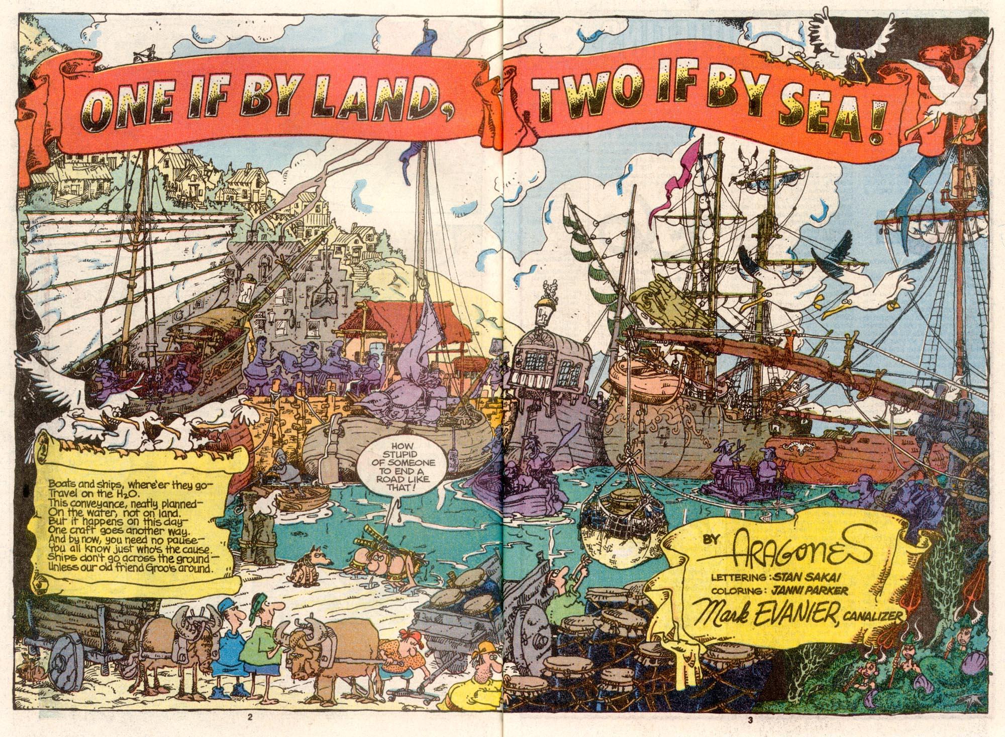 Read online Sergio Aragonés Groo the Wanderer comic -  Issue #69 - 3
