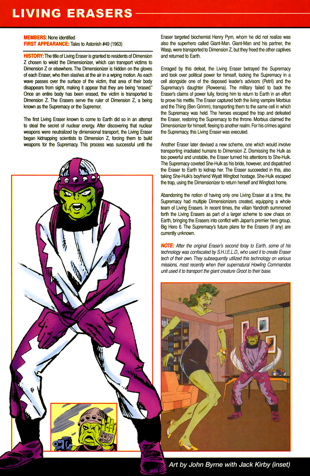 Read online All-New Official Handbook of the Marvel Universe A to Z comic -  Issue #6 - 28