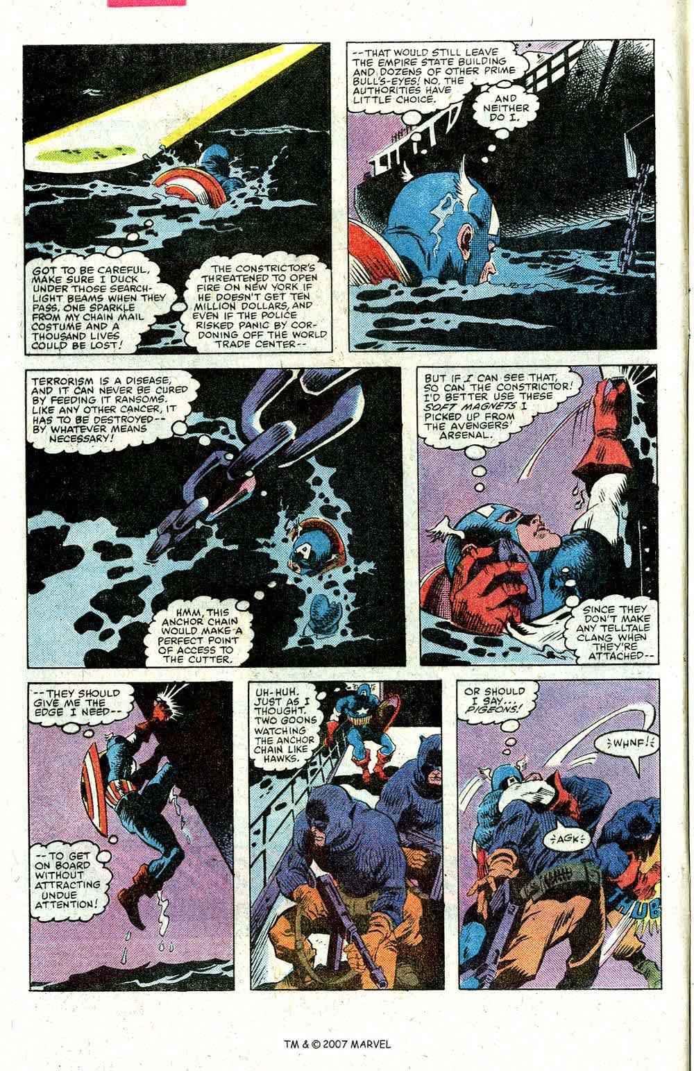 Read online Captain America (1968) comic -  Issue # _Annual 5 - 4
