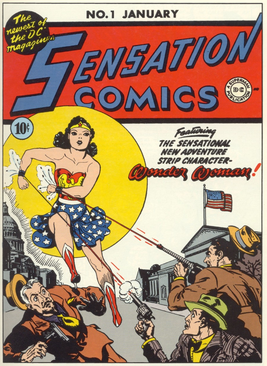 Read online Sensation (Mystery) Comics comic -  Issue #1 - 1