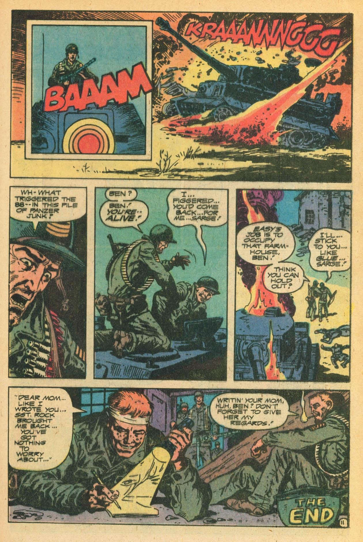 Read online Sgt. Rock comic -  Issue #329 - 21