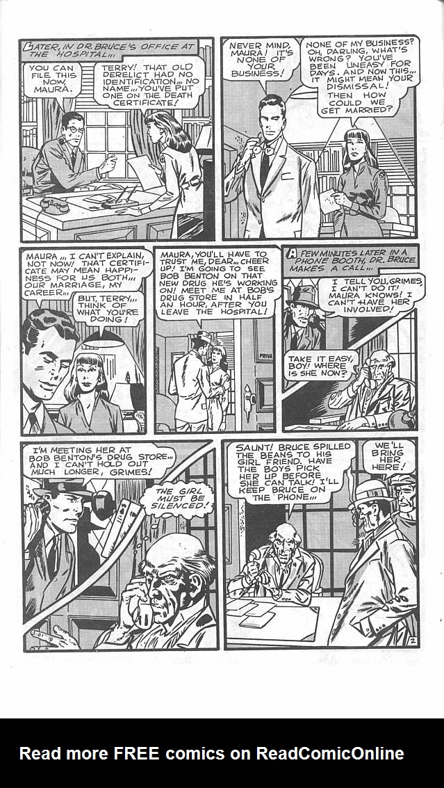 Read online Golden-Age Men of Mystery comic -  Issue #2 - 22