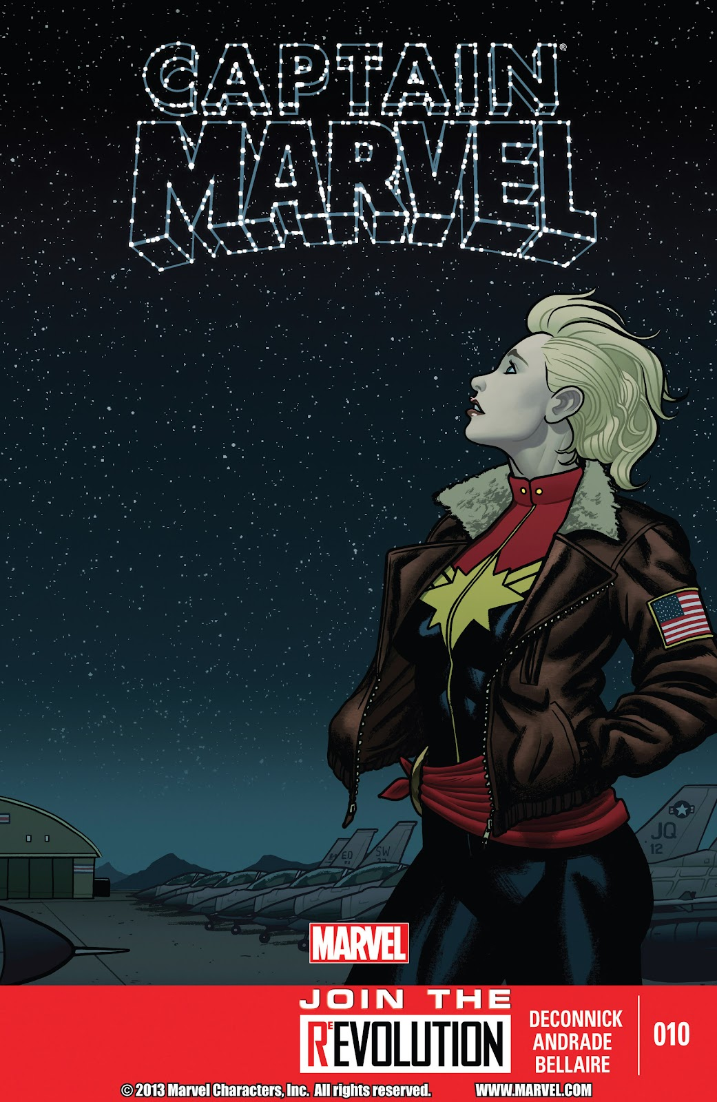 Captain Marvel (2012) issue 10 - Page 1