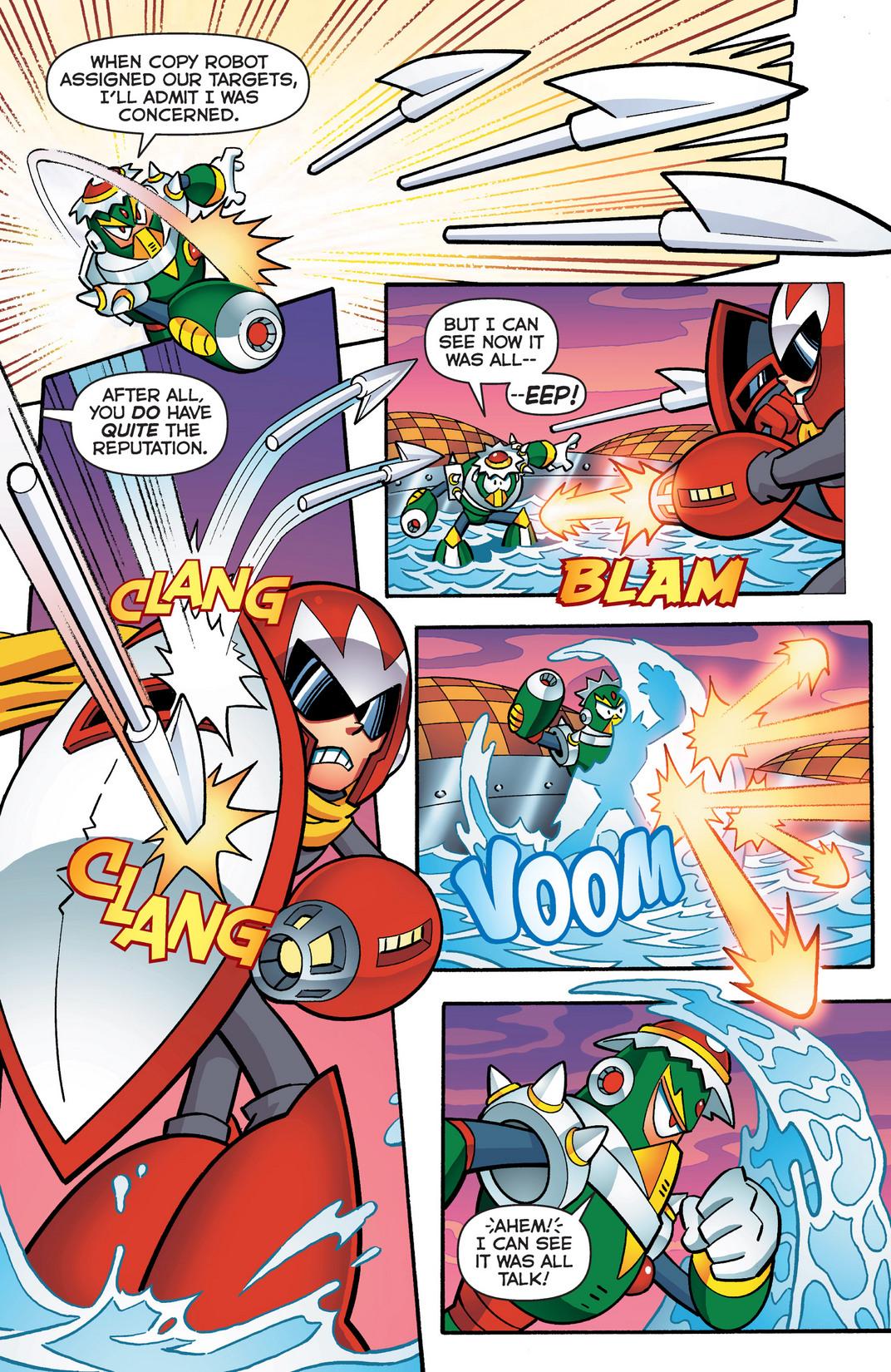 Read online Sonic Mega Man Worlds Collide comic -  Issue # Vol 2 - 20