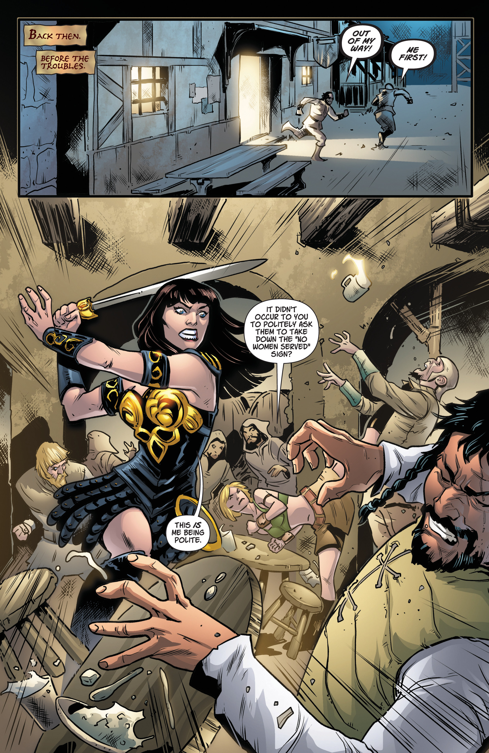 Read online Army Of Darkness/Xena: Forever…And A Day comic -  Issue #5 - 14