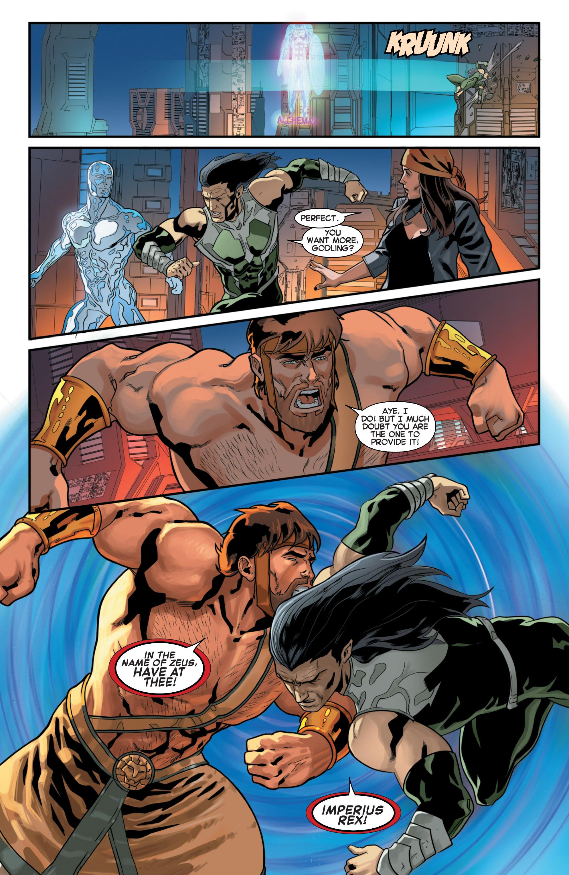 Read online Secret Wars 2099 comic -  Issue #3 - 8