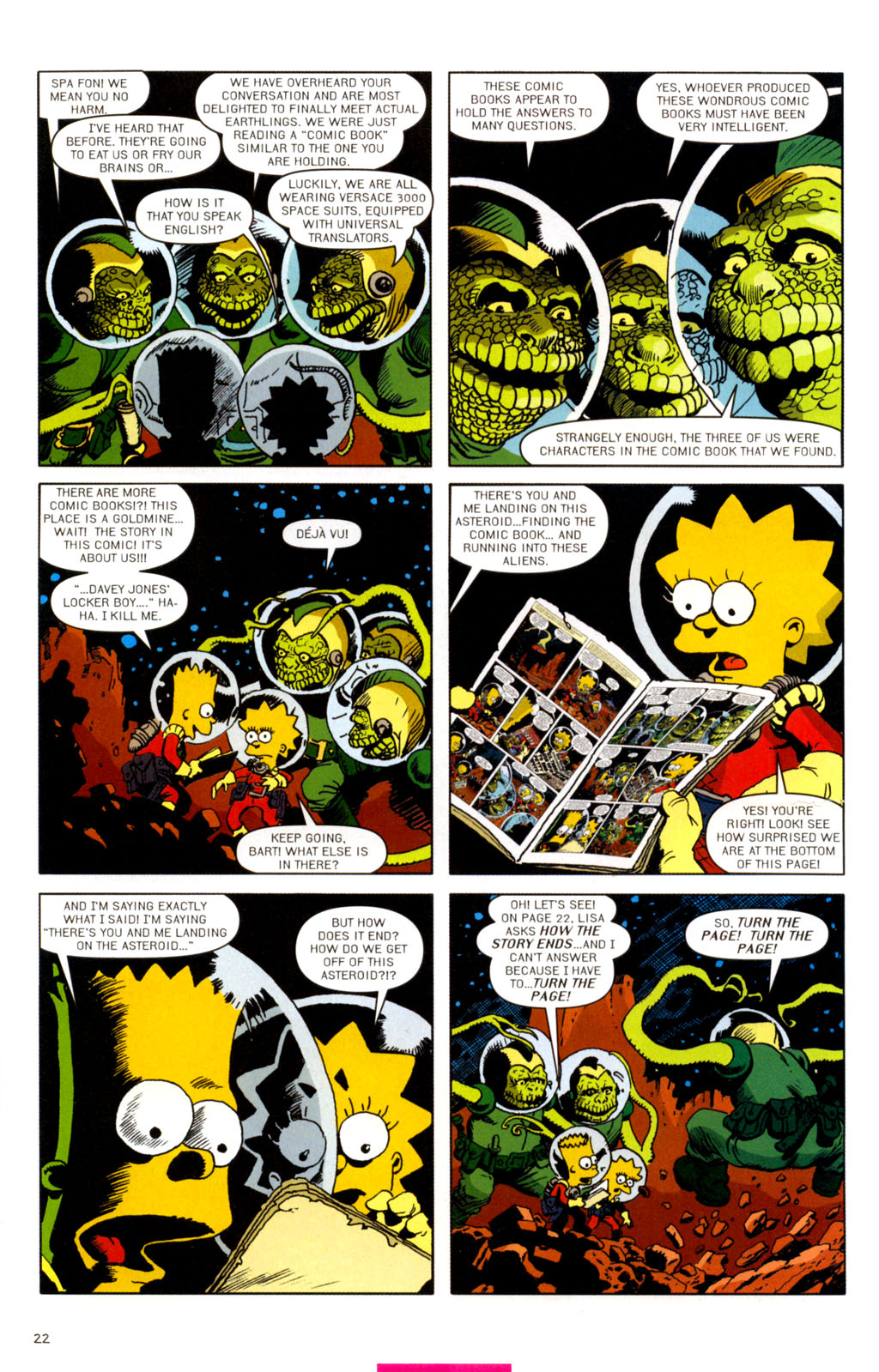 Read online Treehouse of Horror comic -  Issue #11 - 53
