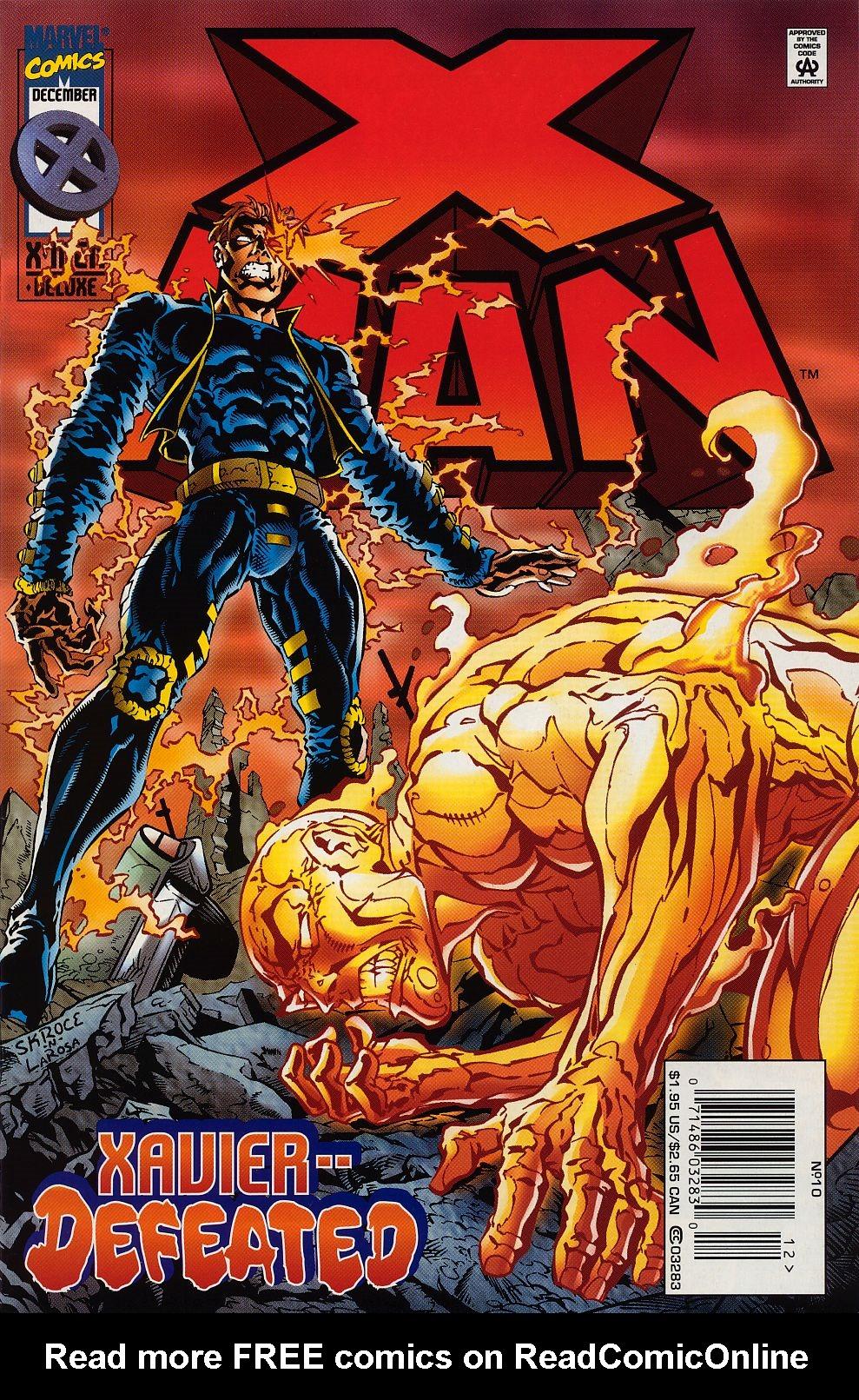 X-Man 10 Page 1
