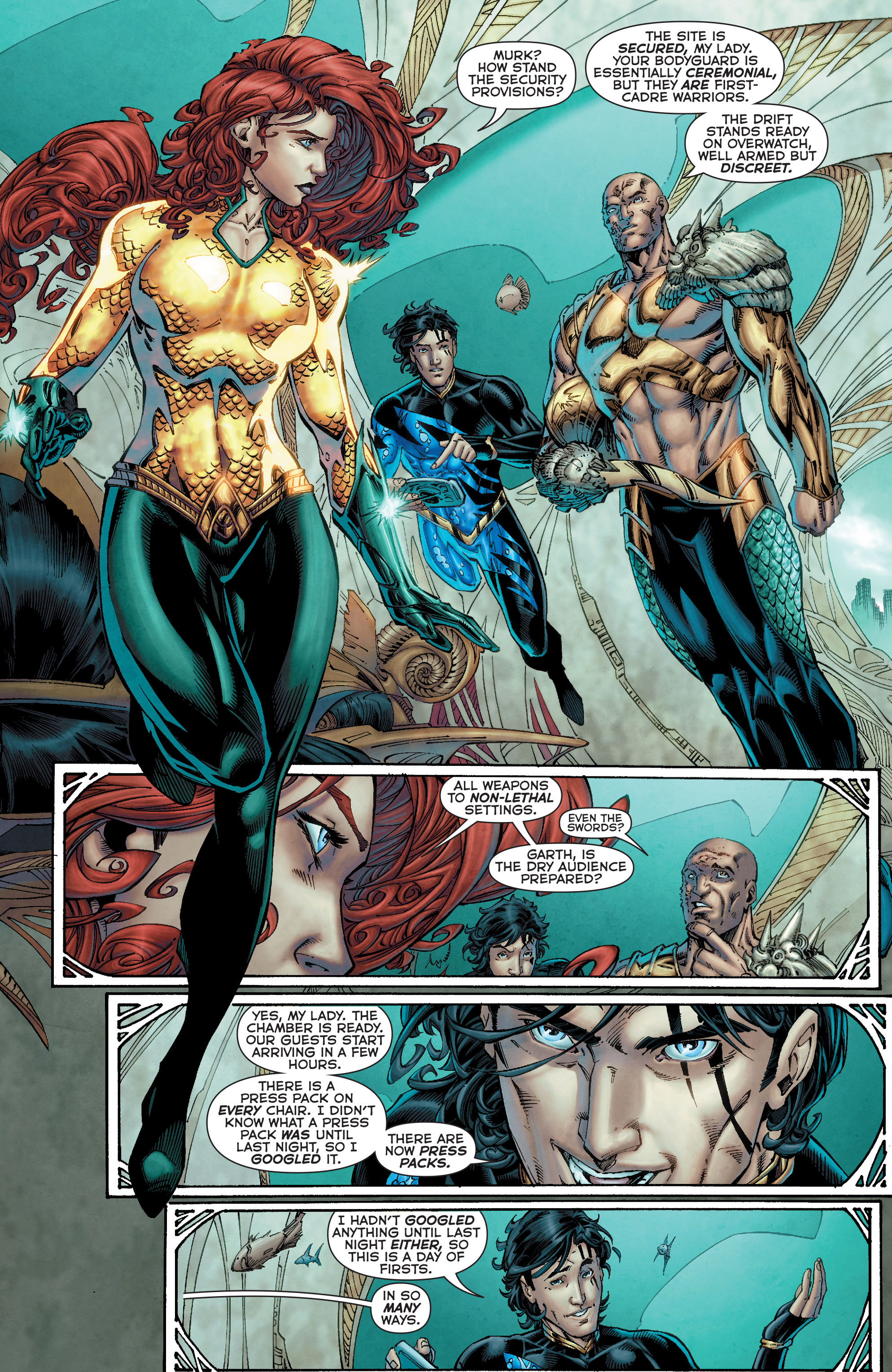 Read online Aquaman (2011) comic -  Issue #50 - 8