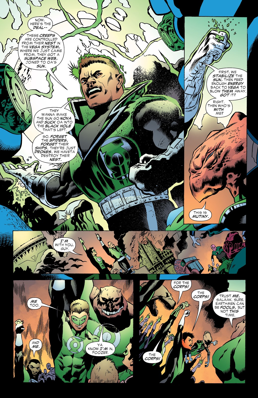 Read online Green Lantern by Geoff Johns comic -  Issue # TPB 1 (Part 3) - 82