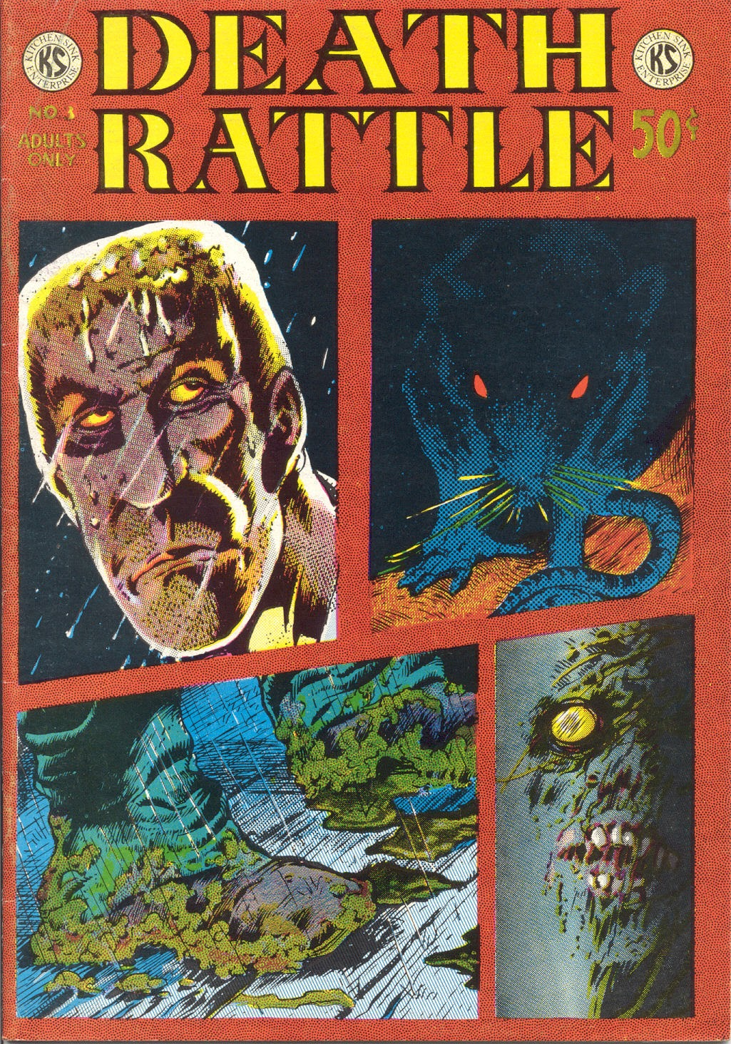 Death Rattle (1972) issue 3 - Page 1