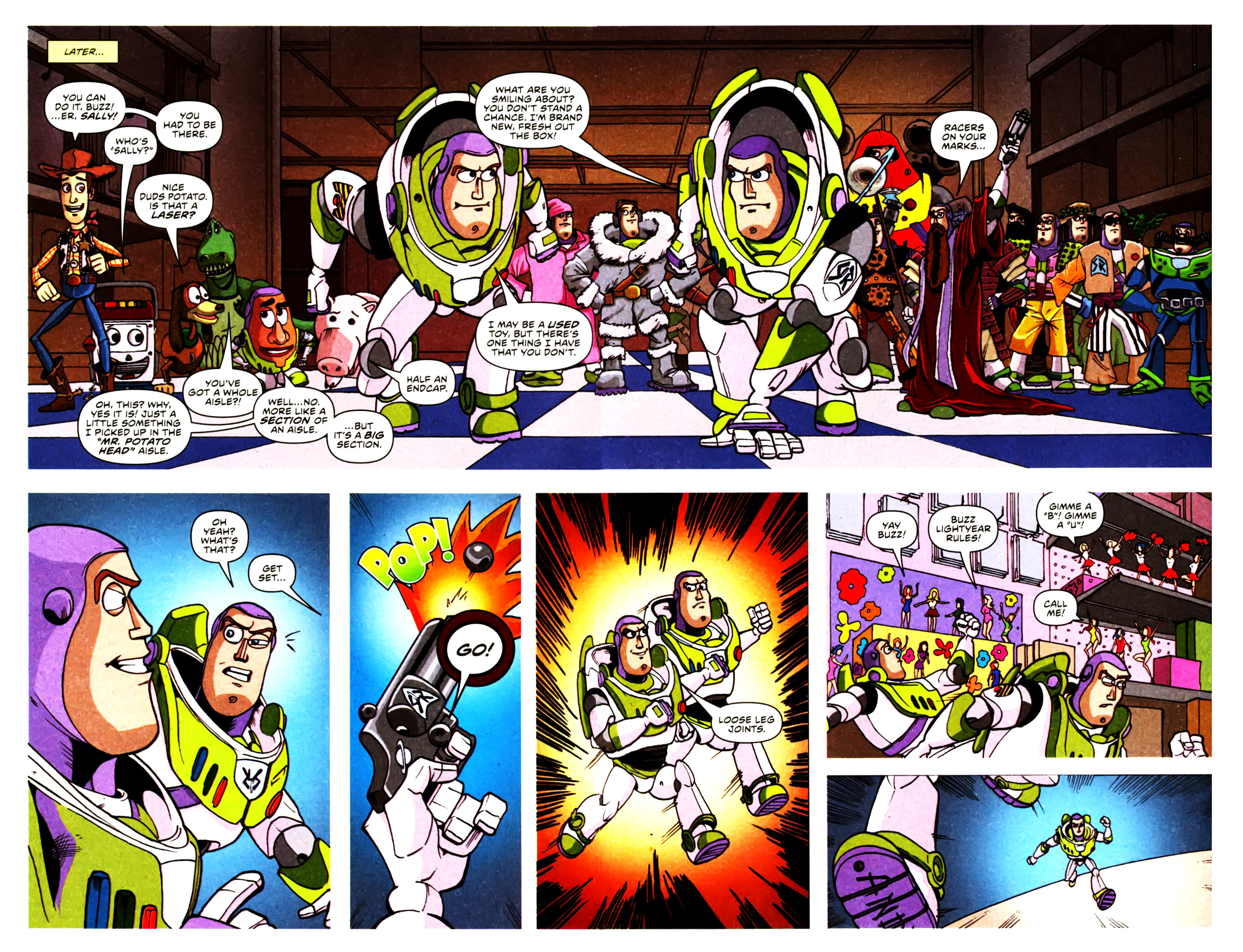 Read online Toy Story (2009) comic -  Issue #2 - 21