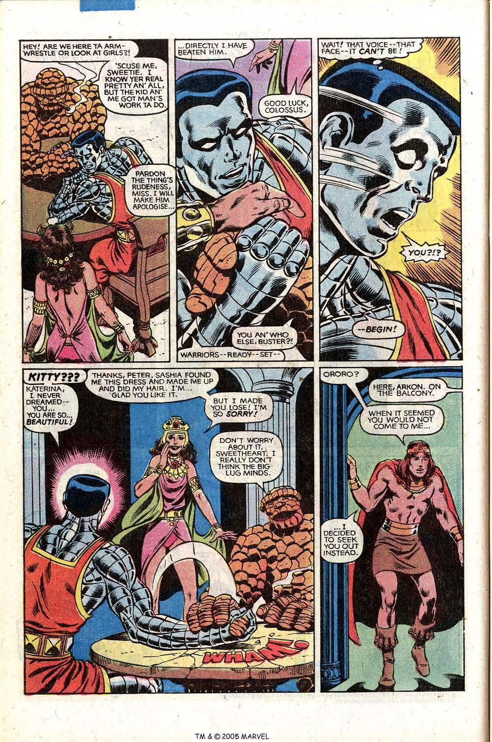 Read online Uncanny X-Men (1963) comic -  Issue # _Annual 5 - 48