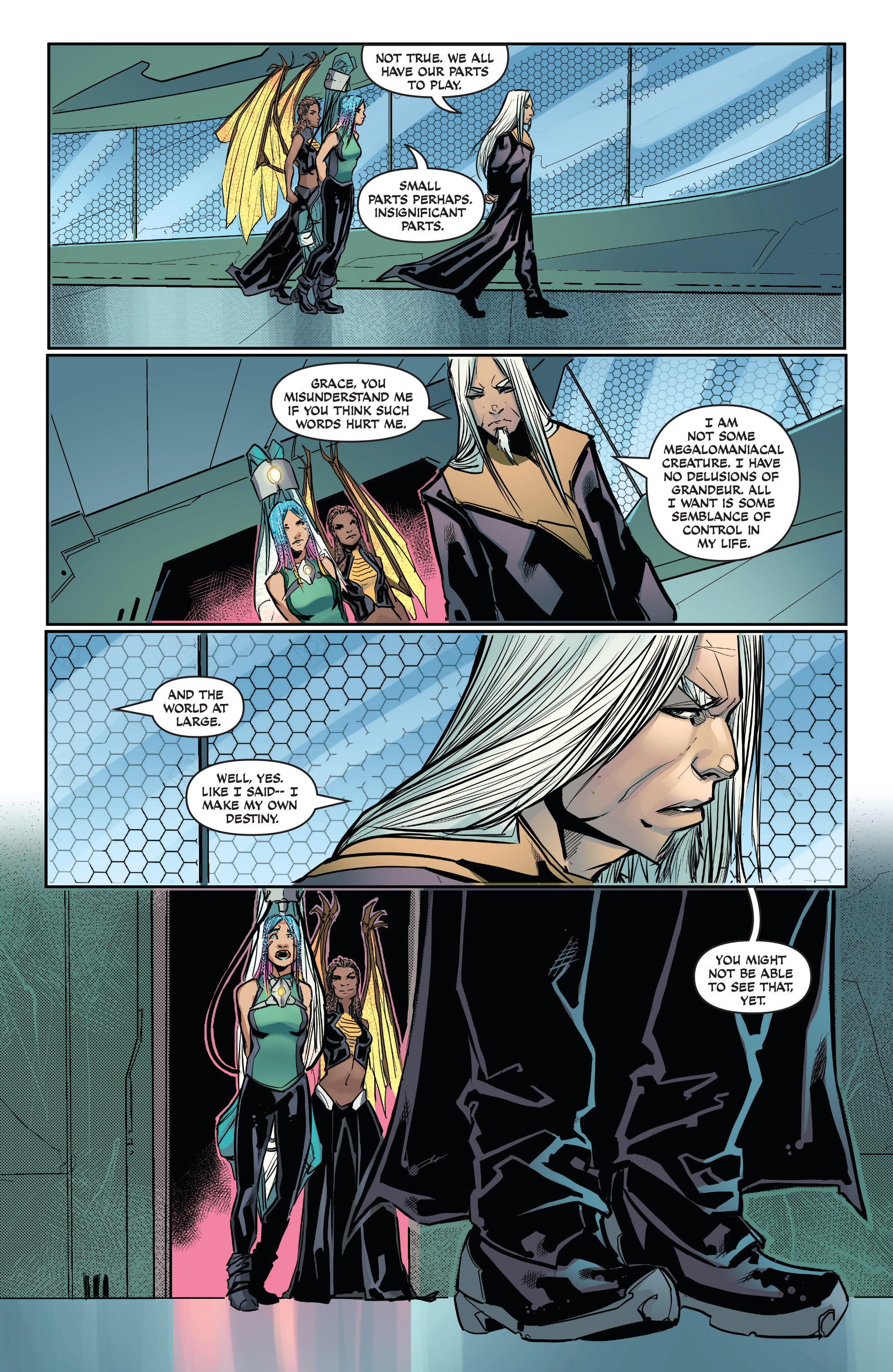 Read online All-New Soulfire Vol. 6 comic -  Issue #3 - 21