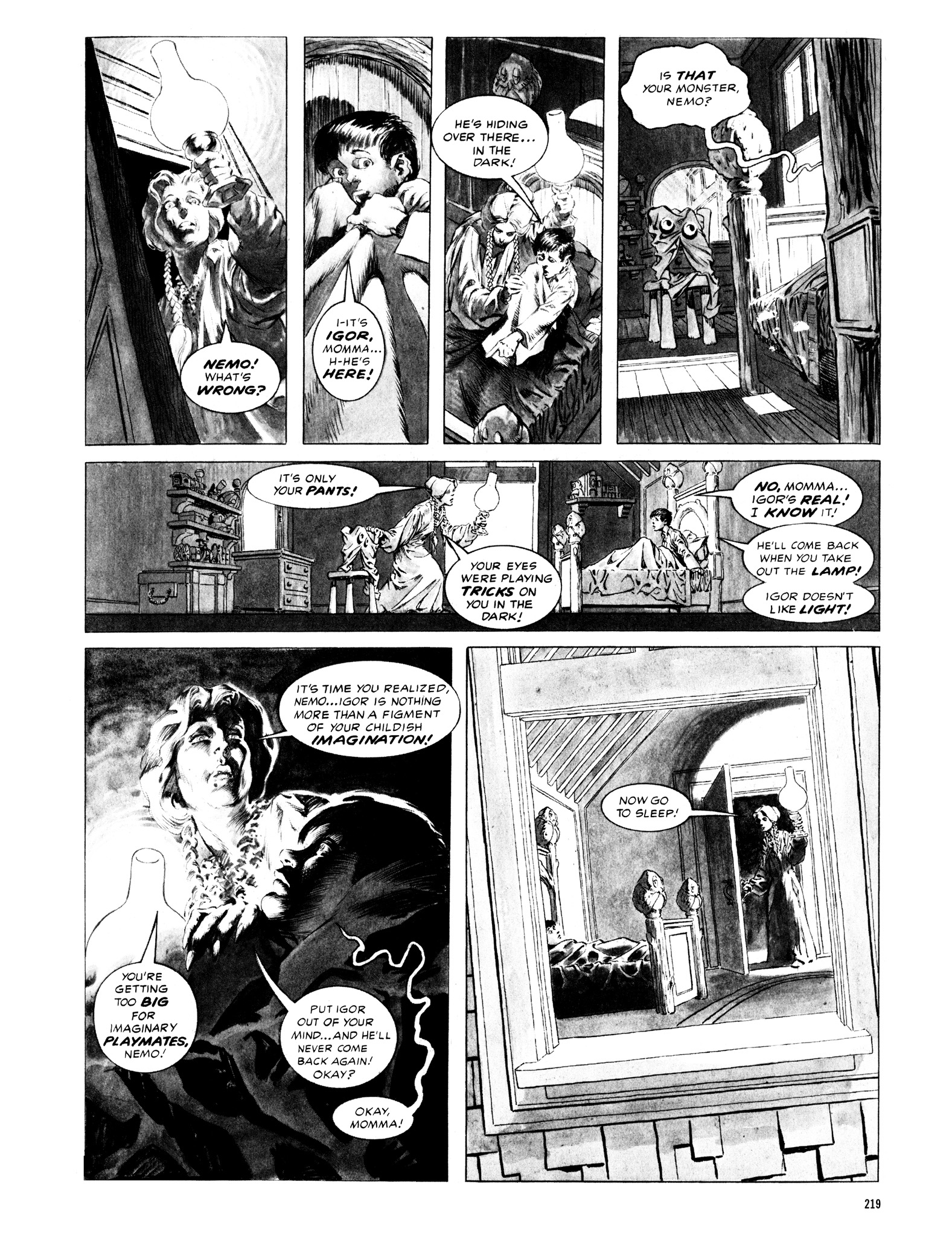 Read online Eerie Archives comic -  Issue # TPB 12 - 220