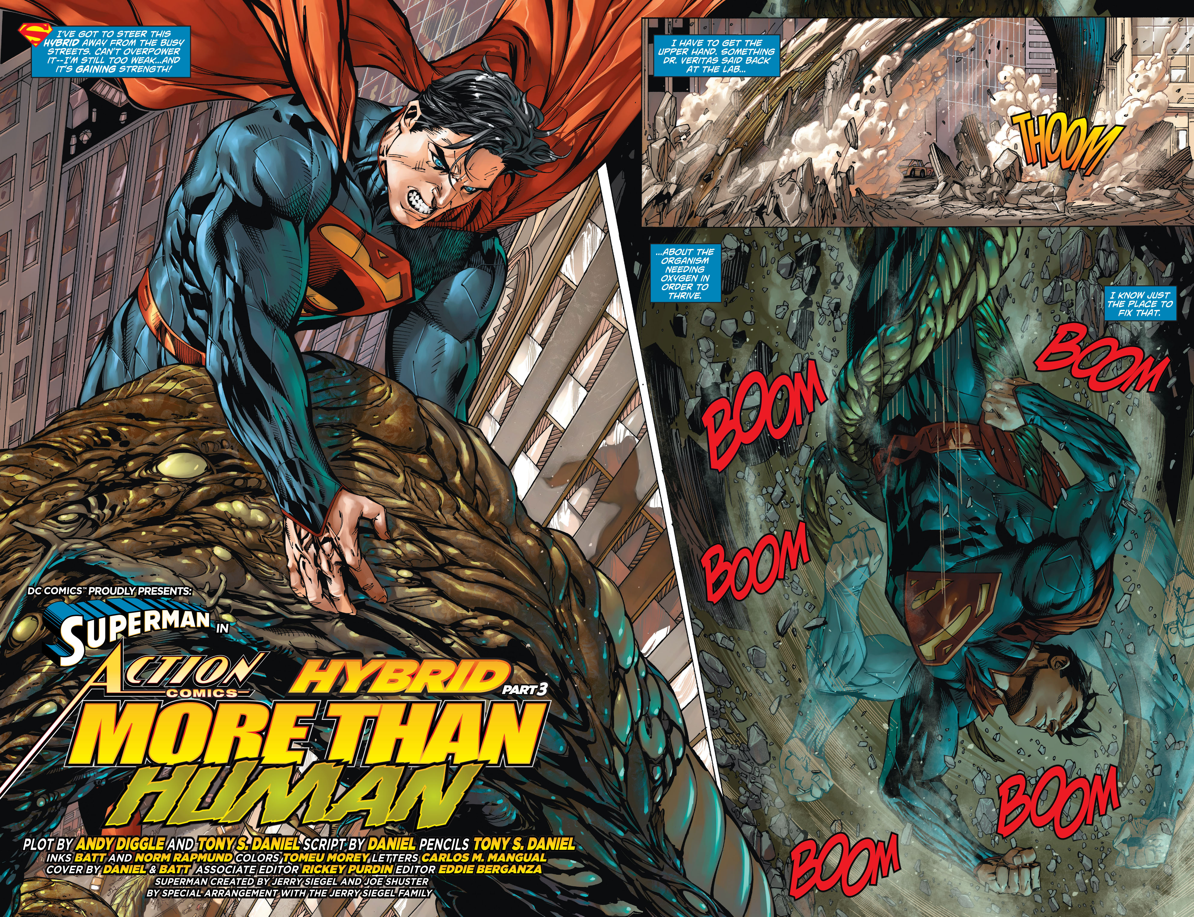Read online Action Comics (2011) comic -  Issue #21 - 5