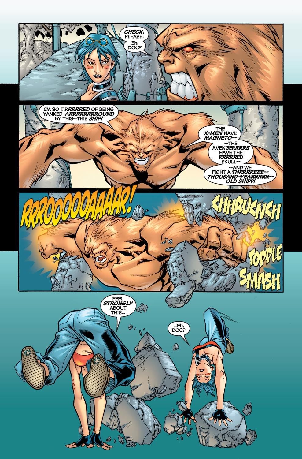 Alpha Flight (2004) issue 5 - Page 4