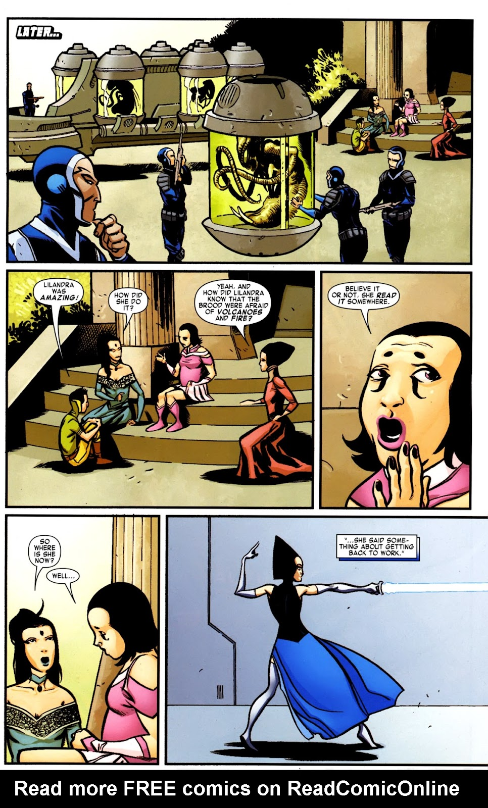 War of Kings: Warriors Issue #2 #2 - English 33