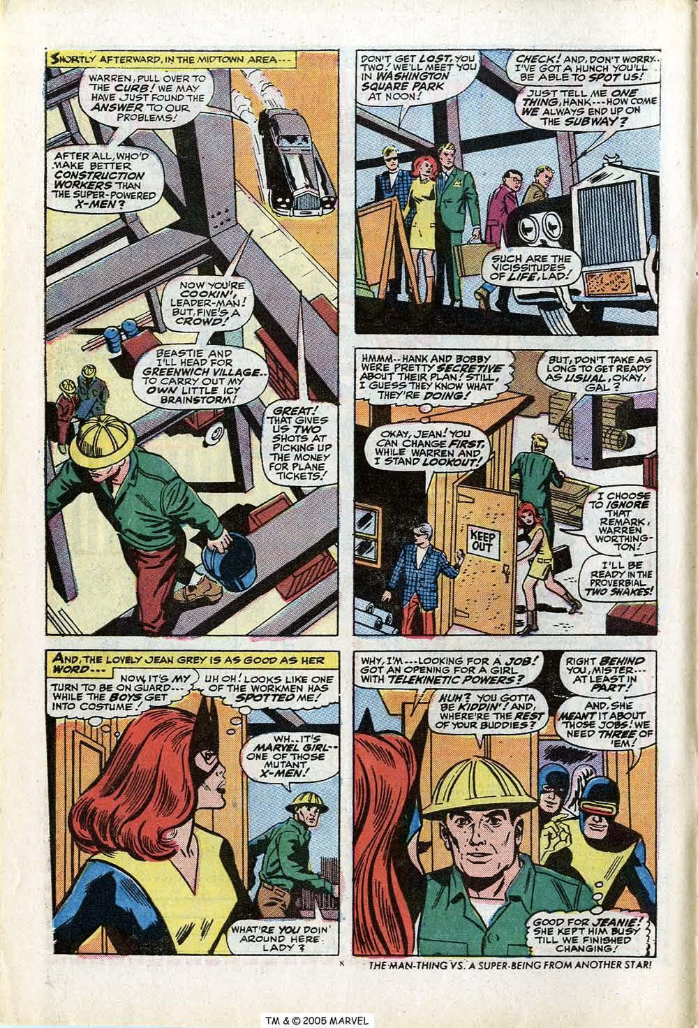 Uncanny X-Men (1963) 84 Page 9