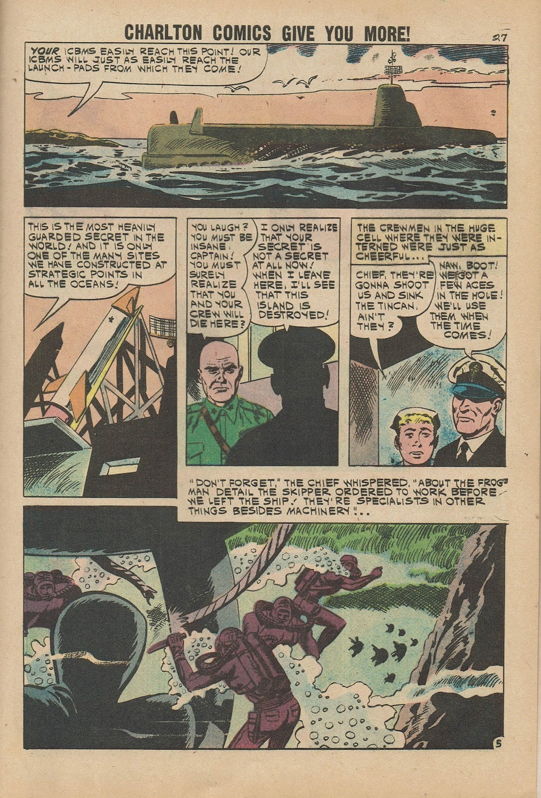 Read online Fightin' Navy comic -  Issue #98 - 29
