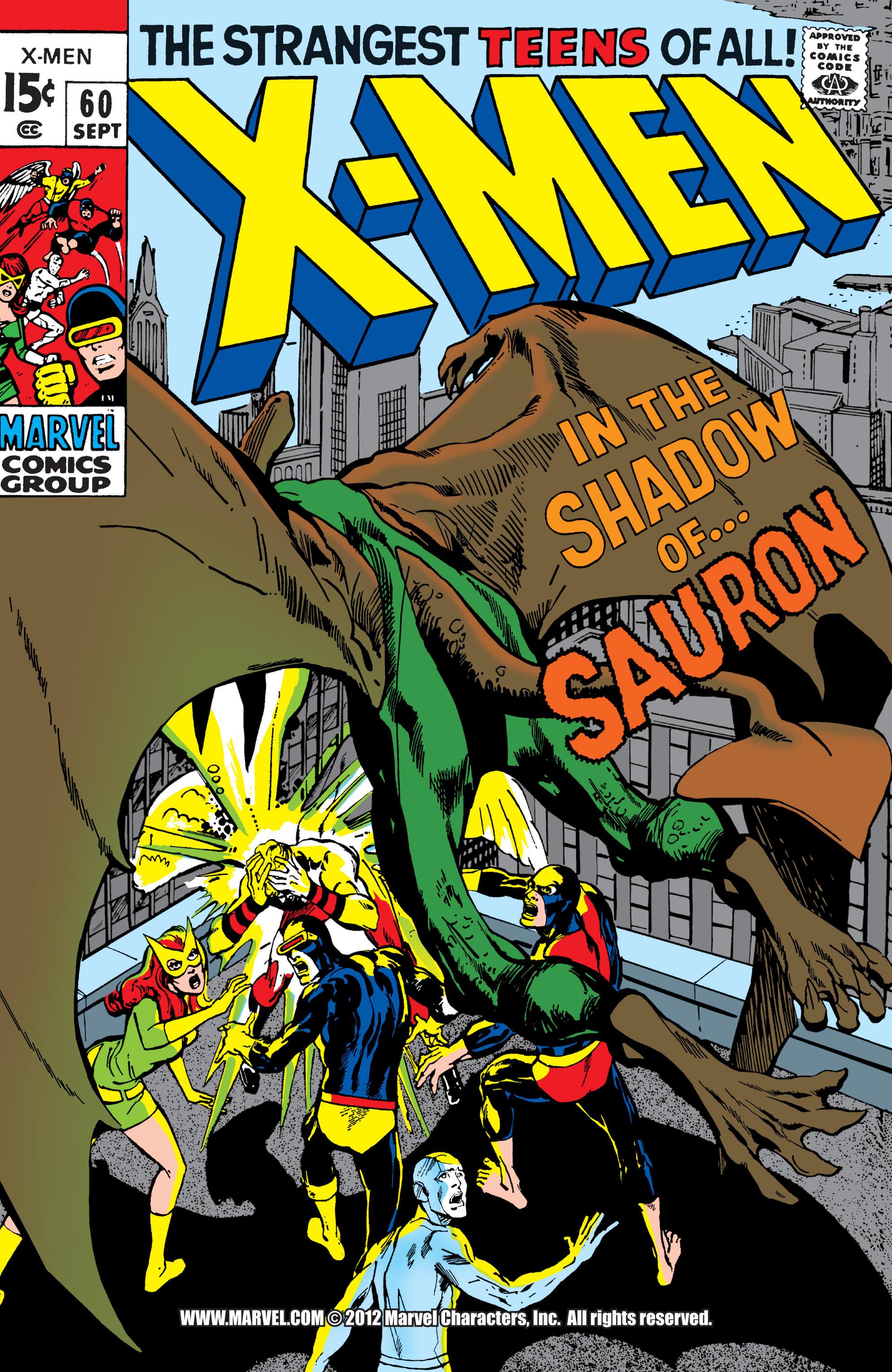Read online Uncanny X-Men (1963) comic -  Issue #60 - 1
