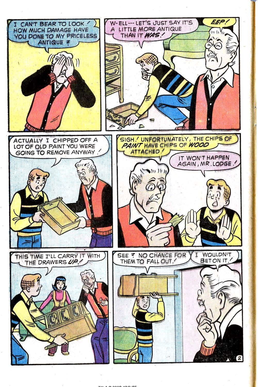 Read online Archie (1960) comic -  Issue #244 - 4