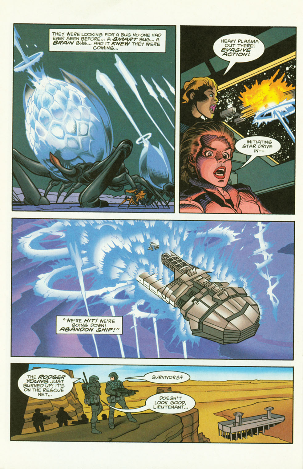 Read online Starship Troopers comic -  Issue #2 - 18