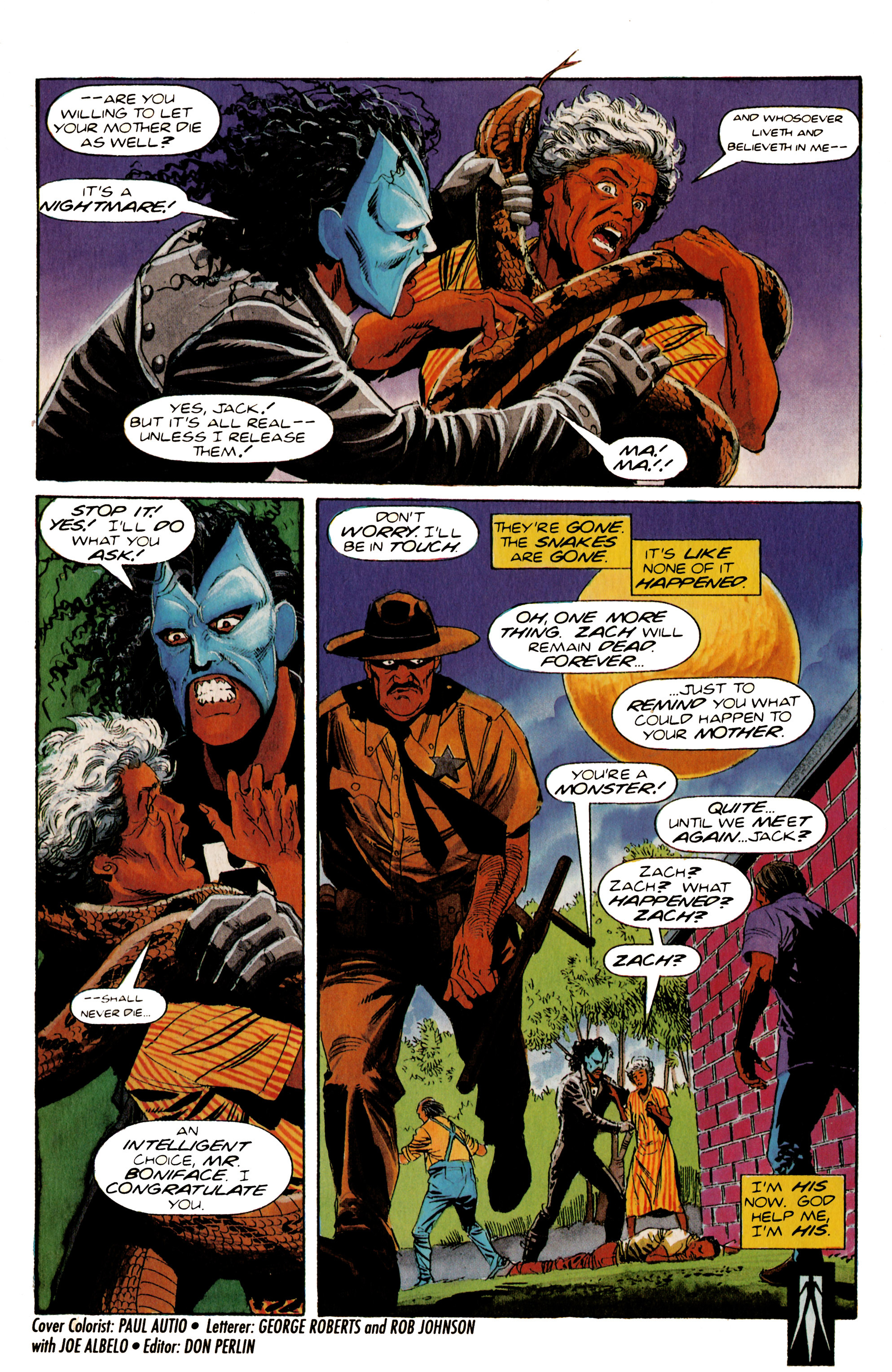 Read online Shadowman (1992) comic -  Issue #20 - 22