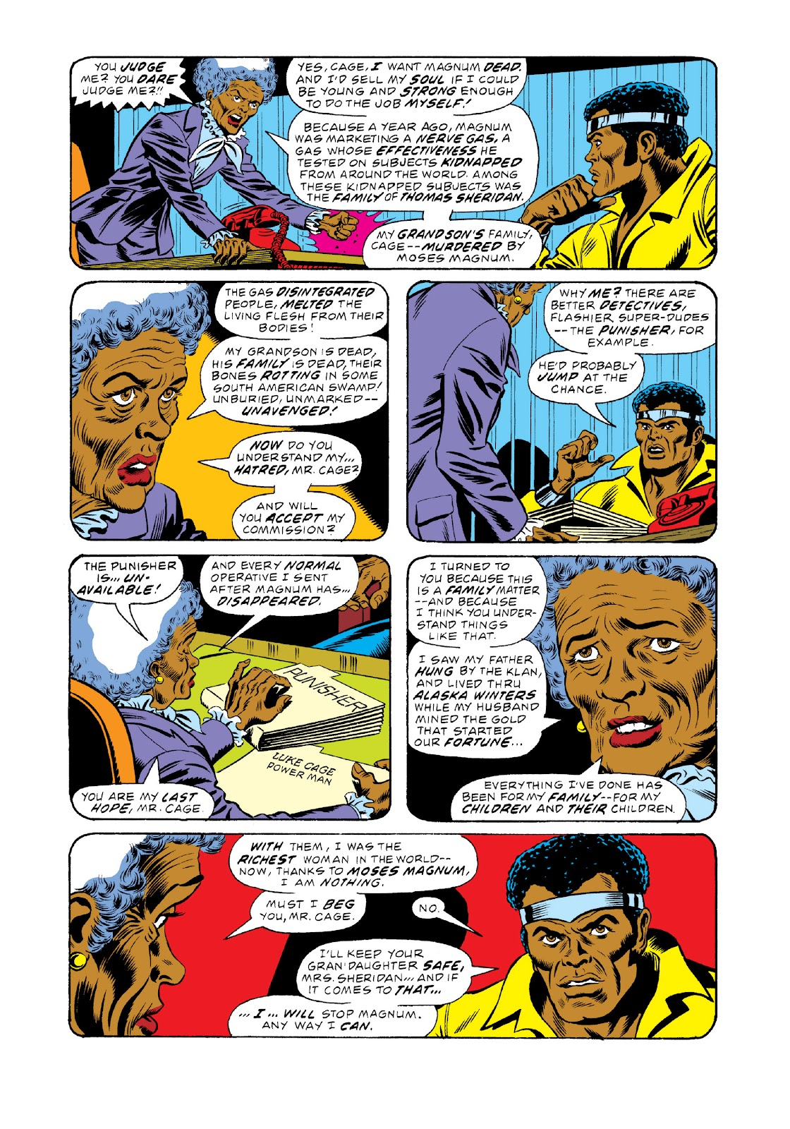 Read online Marvel Masterworks: Luke Cage, Power Man comic -  Issue # TPB 3 (Part 1) - 92