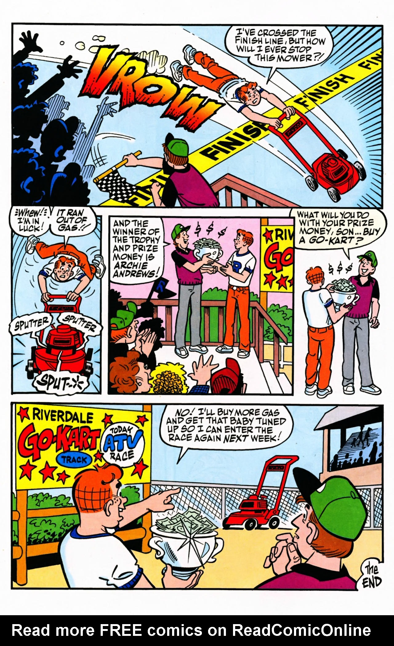 Read online Archie (1960) comic -  Issue #599 - 32