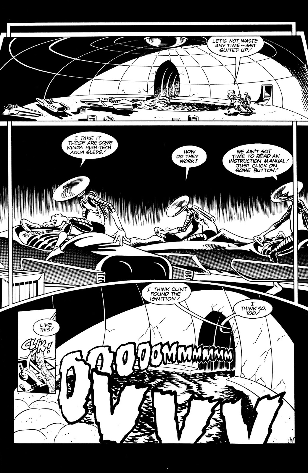 Adolescent Radioactive Black Belt Hamsters (1986) issue 8 - Page 15