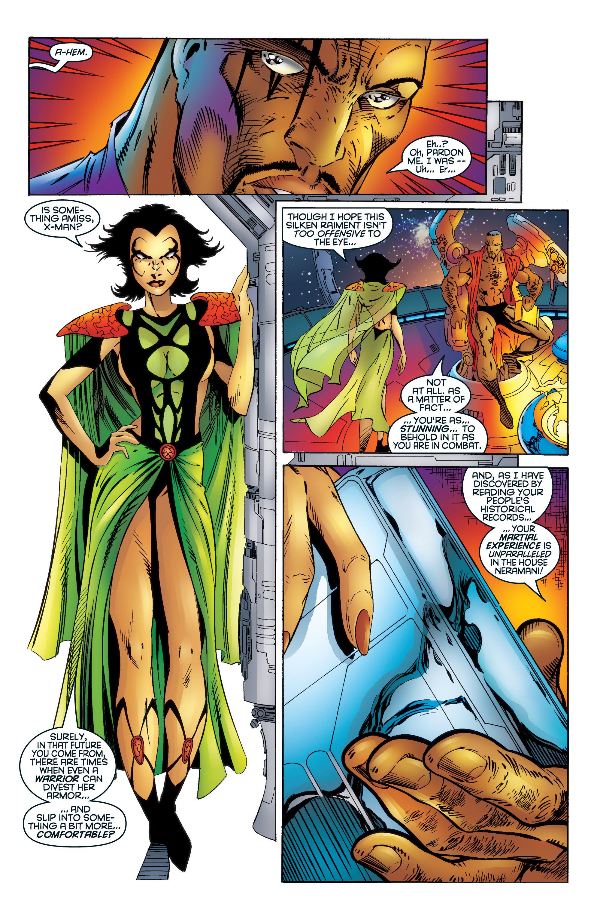 Read online Uncanny X-Men (1963) comic -  Issue #345 - 18