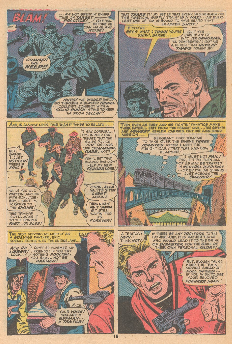 Read online Sgt. Fury comic -  Issue #105 - 20