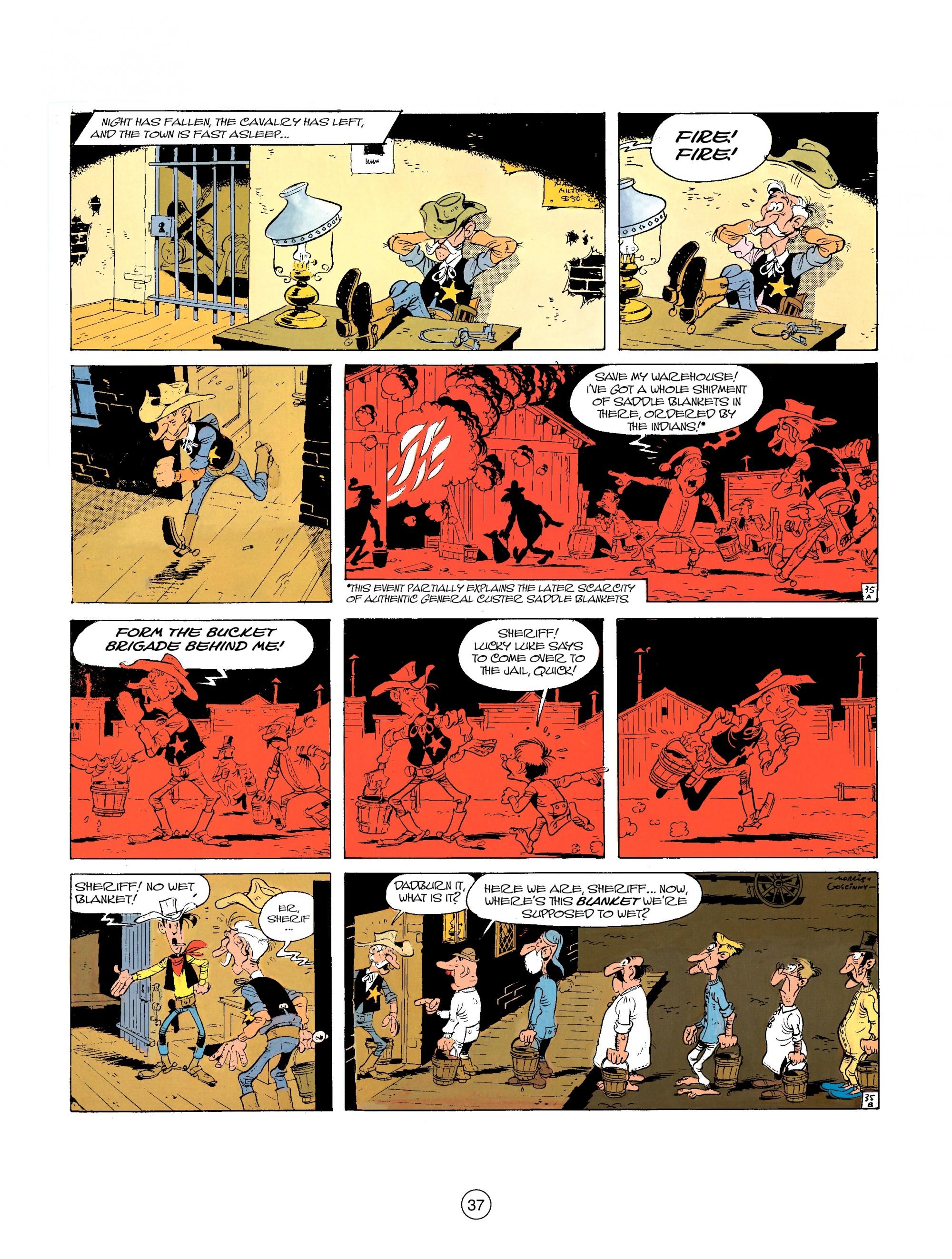 Read online A Lucky Luke Adventure comic -  Issue #26 - 37