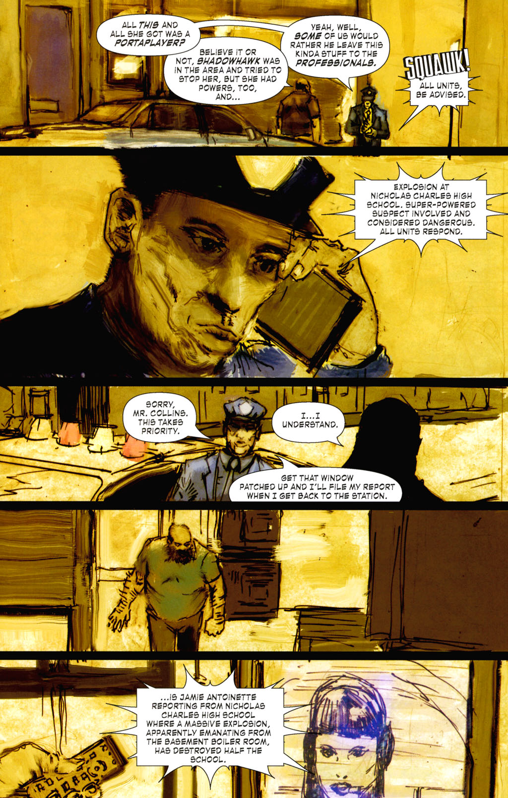 Read online ShadowHawk (2005) comic -  Issue #8 - 3